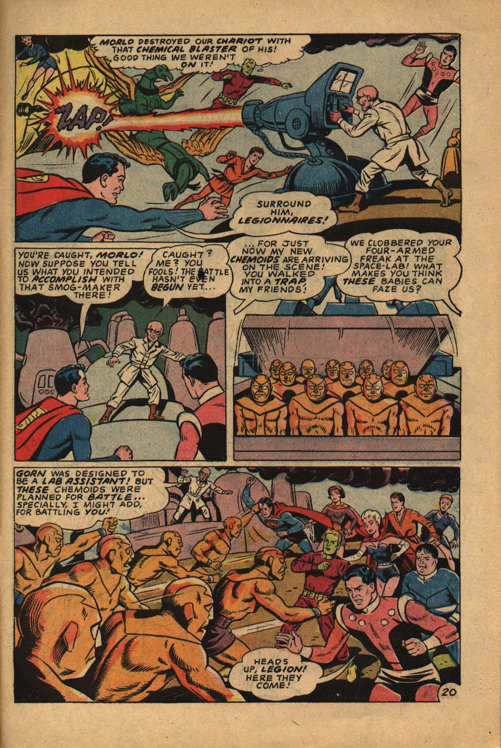 Read online Adventure Comics (1938) comic -  Issue #362 - 31