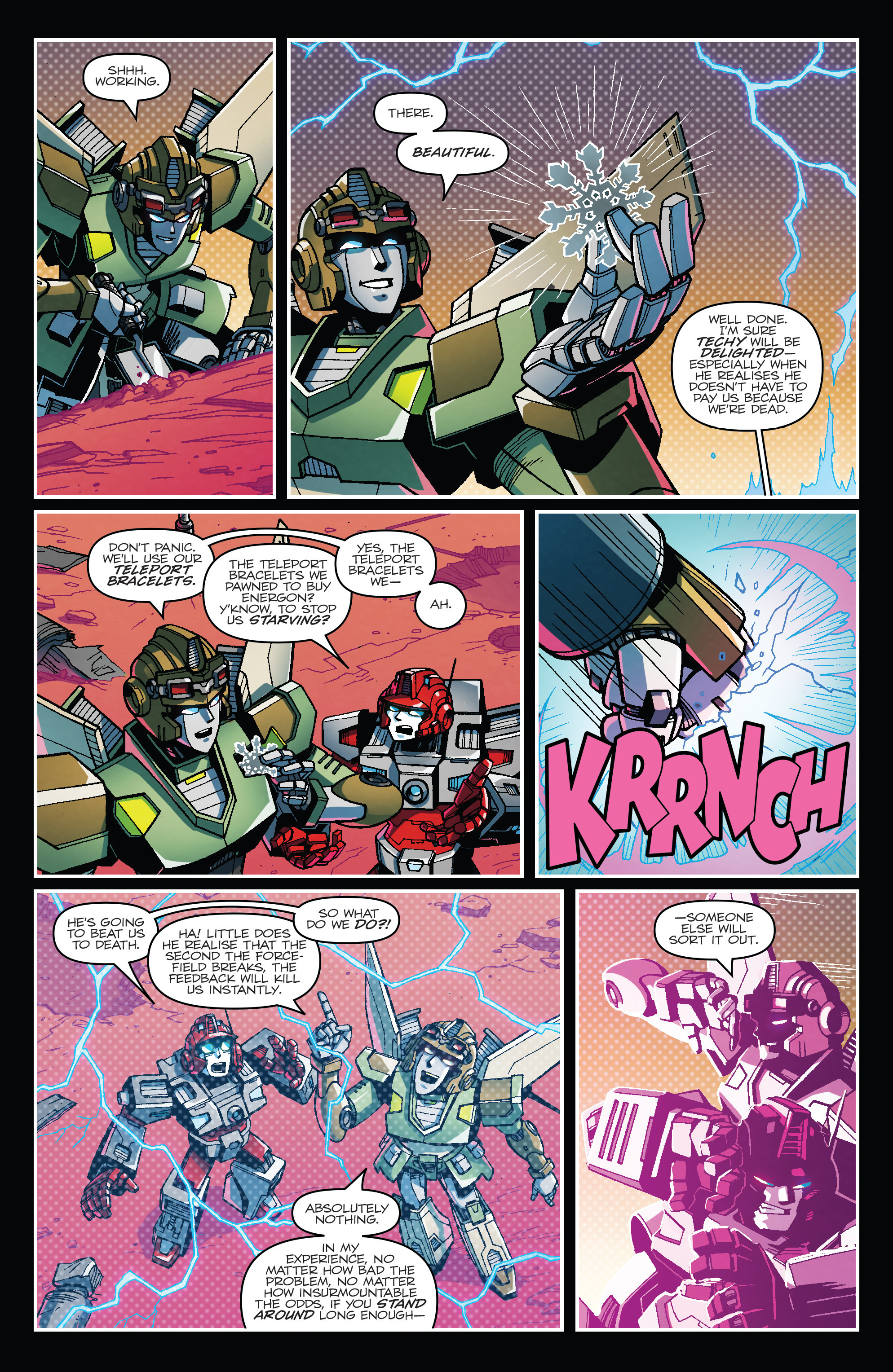 Read online Transformers: Lost Light comic -  Issue #1 - 5