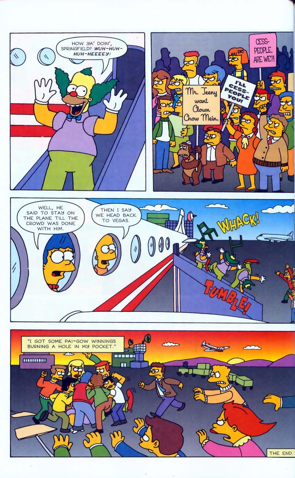 Read online Simpsons Comics comic -  Issue #50 - 55