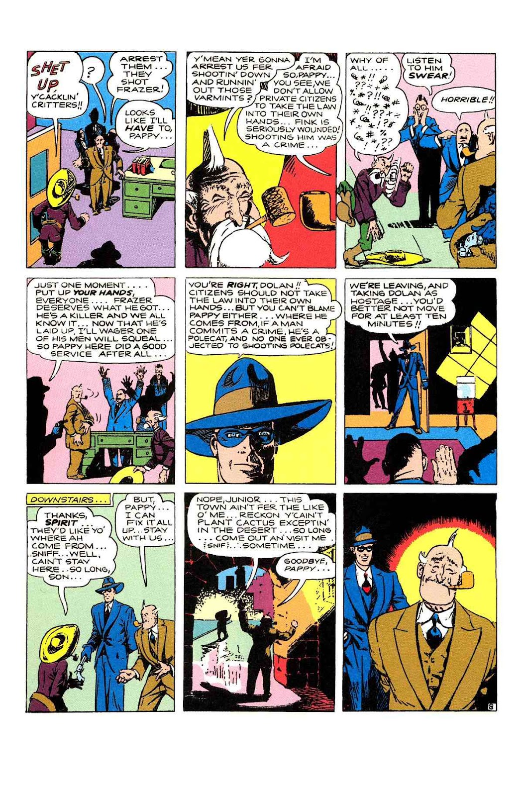 Read online Will Eisner's The Spirit Archives comic -  Issue # TPB 2 (Part 1) - 72