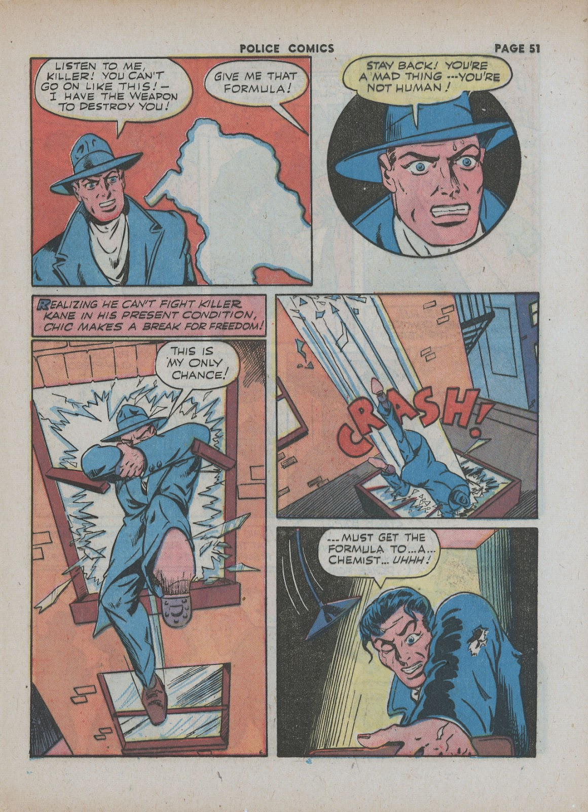 Police Comics issue 18 - Page 53
