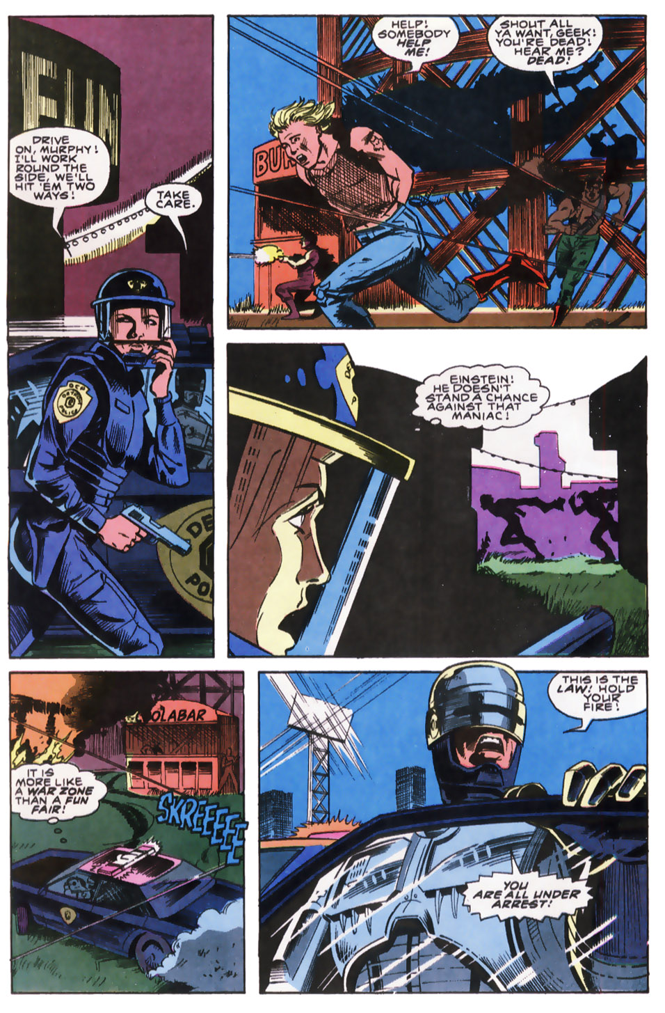 Read online Robocop (1990) comic -  Issue #8 - 19