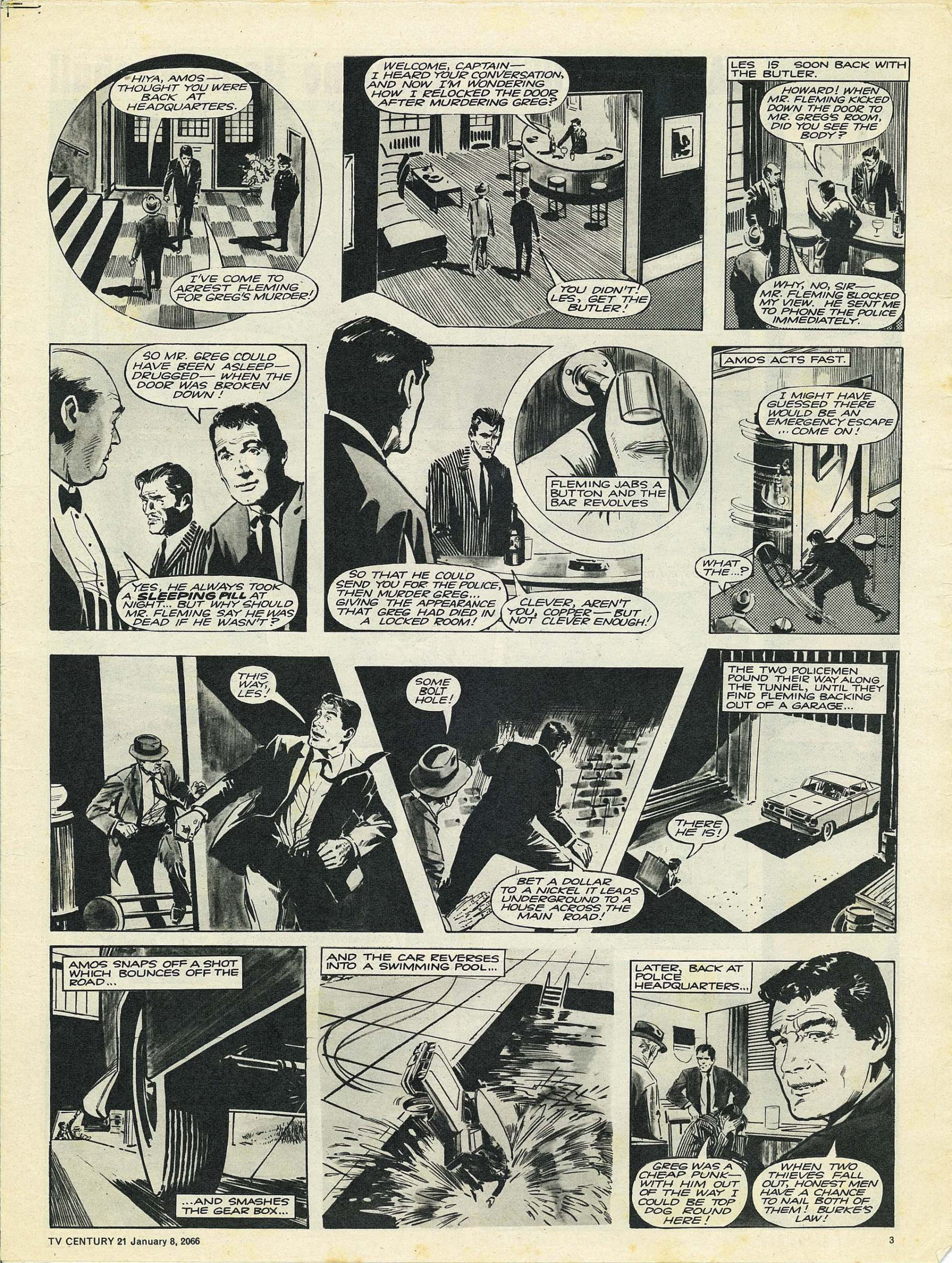 Read online TV Century 21 (TV 21) comic -  Issue #51 - 3