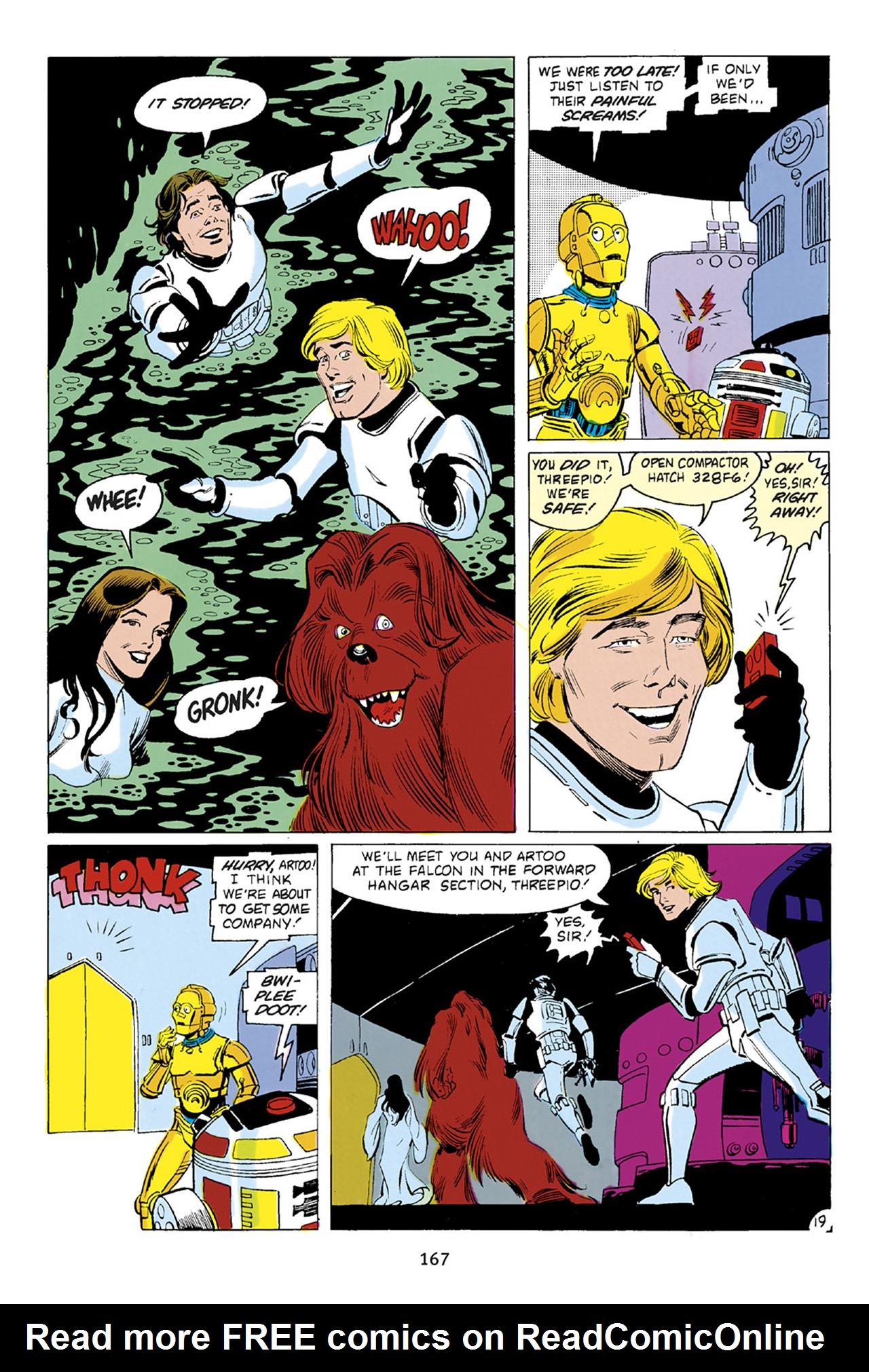 Read online Star Wars Omnibus comic -  Issue # Vol. 23 - 166