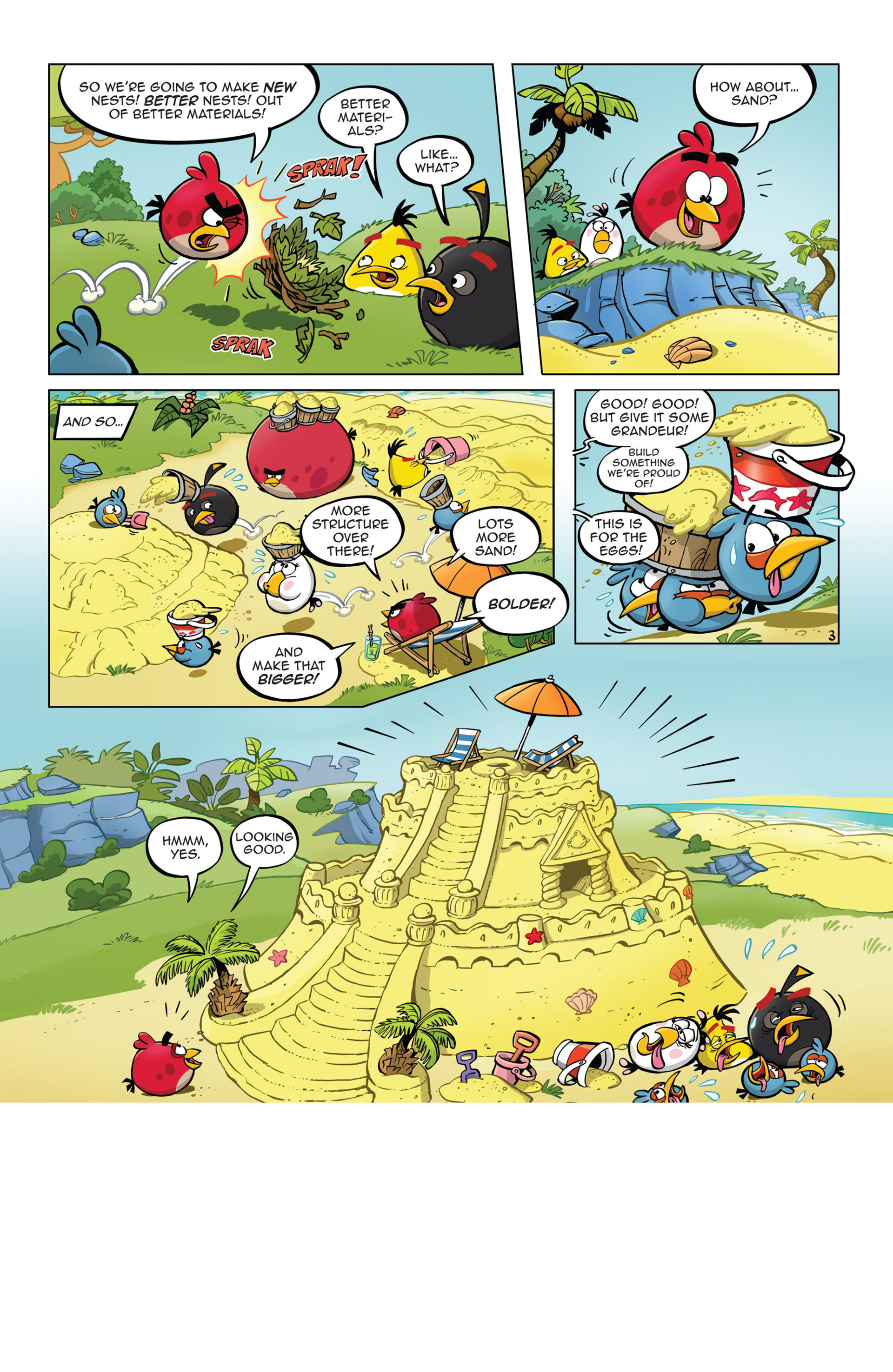 Read online Angry Birds Comics (2014) comic -  Issue #5 - 15