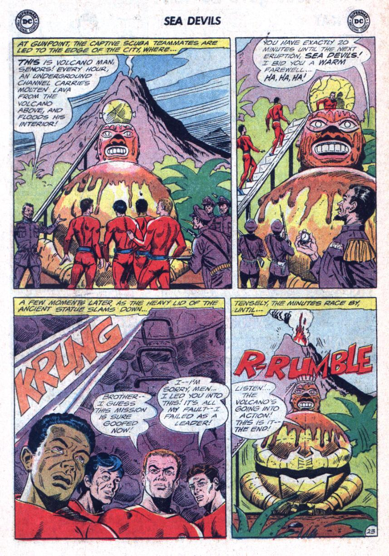 Read online Sea Devils comic -  Issue #25 - 31