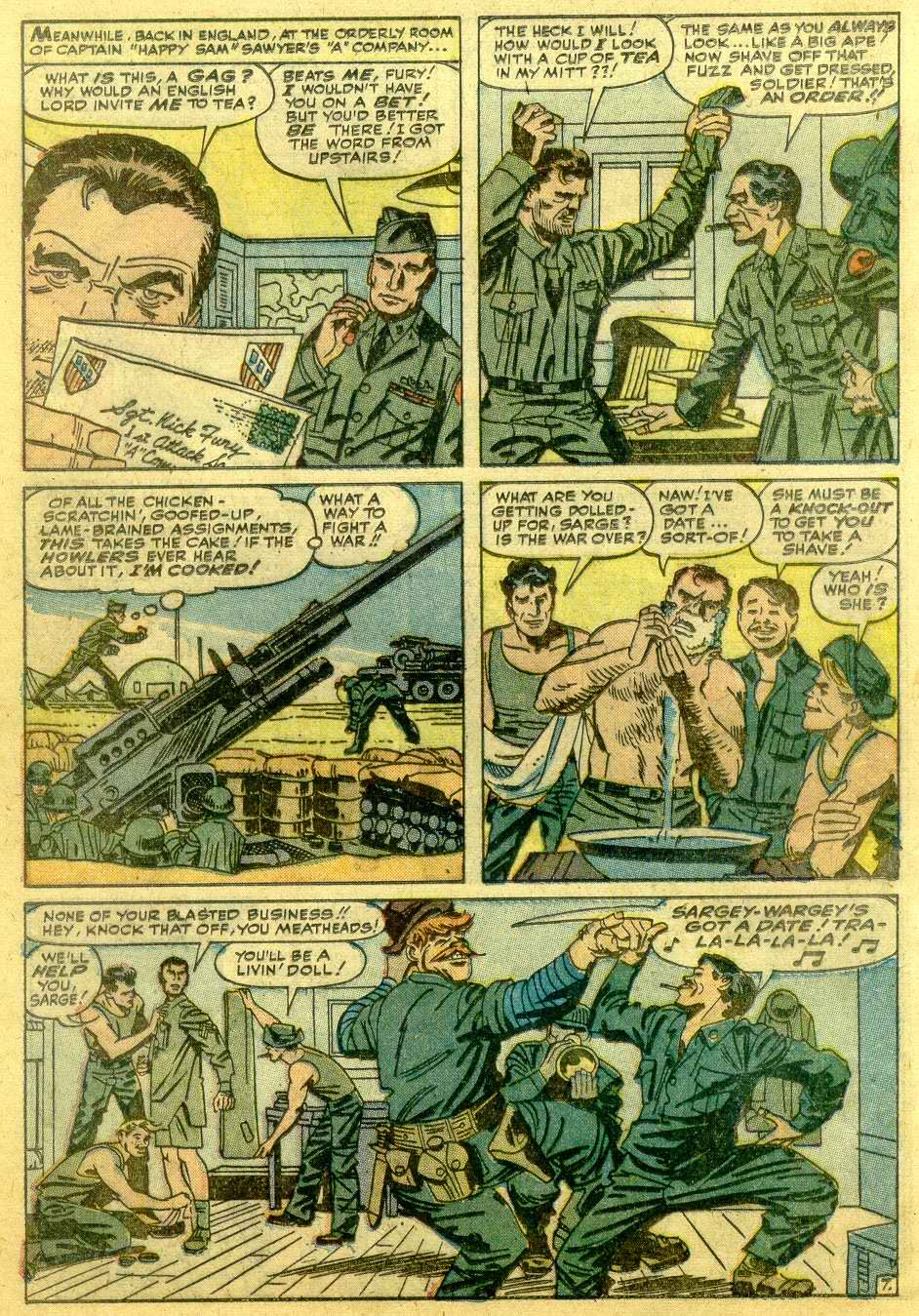 Read online Sgt. Fury comic -  Issue # _Annual 1 - 30