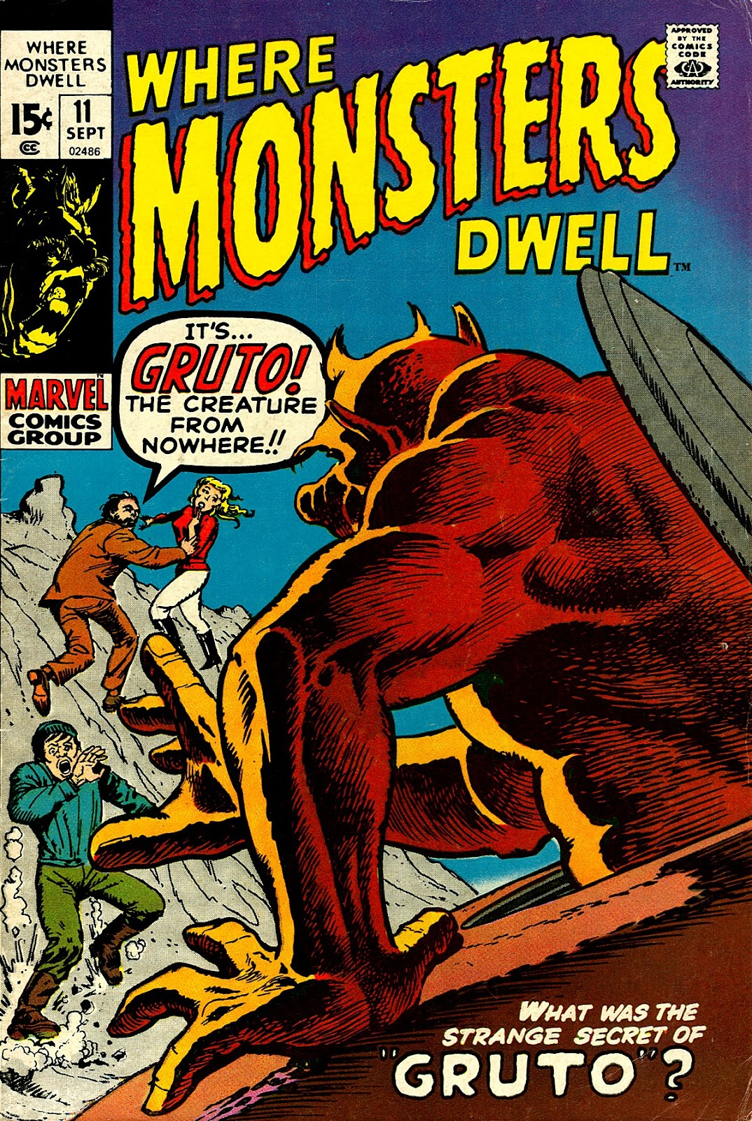 Where Monsters Dwell (1970) issue 11 - Page 1