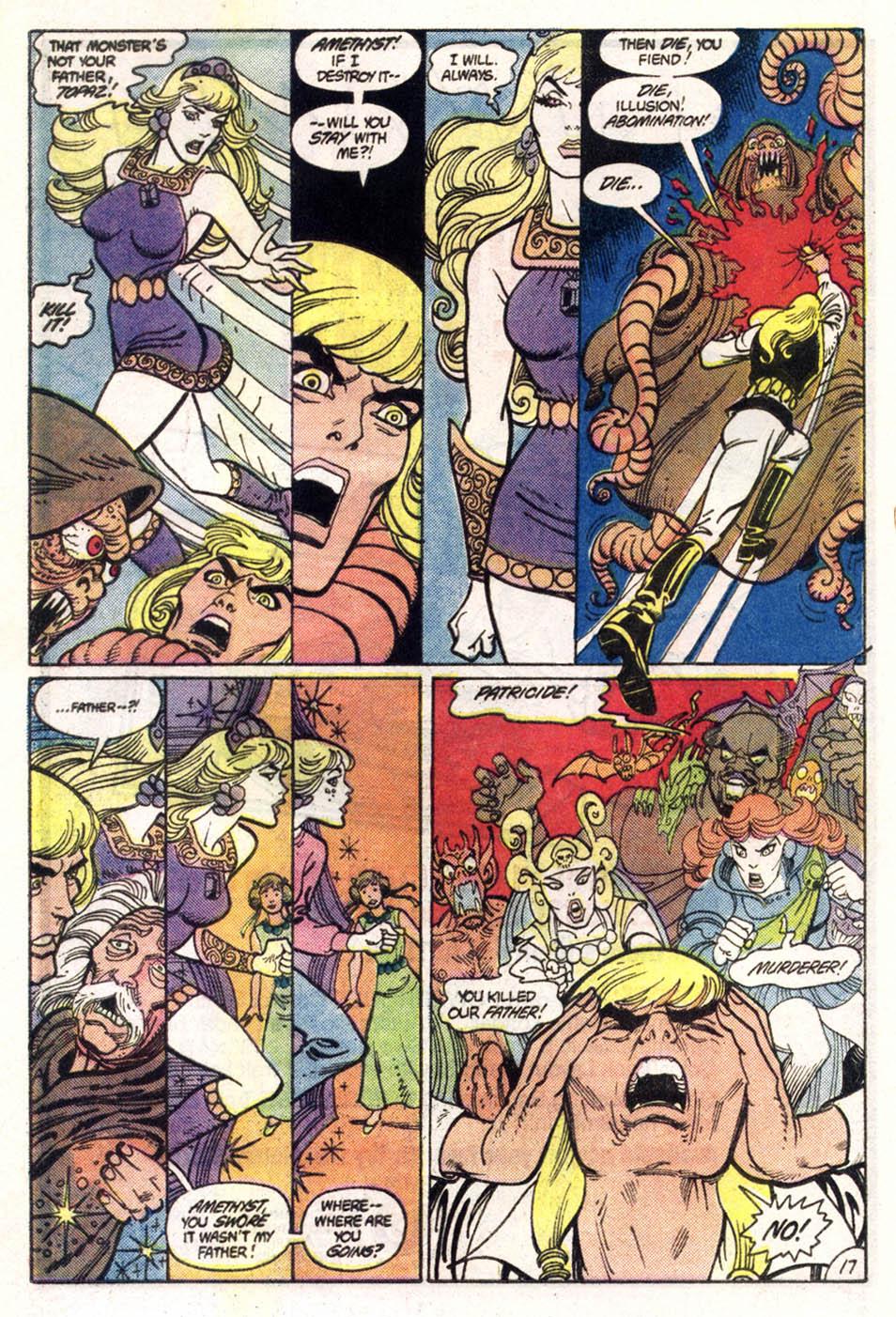 Read online Amethyst (1985) comic -  Issue #1 - 18