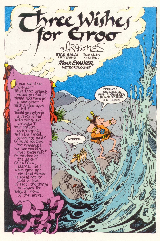 Read online Sergio Aragonés Groo the Wanderer comic -  Issue #113 - 3