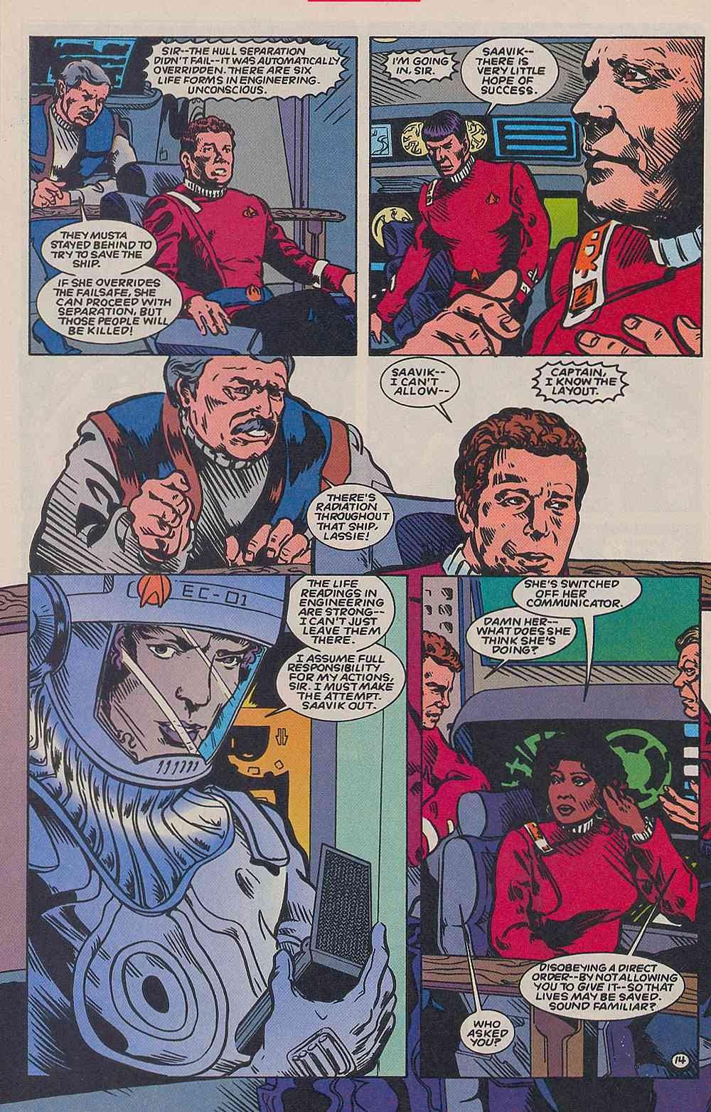 Read online Star Trek (1989) comic -  Issue # _Special 2 - 46