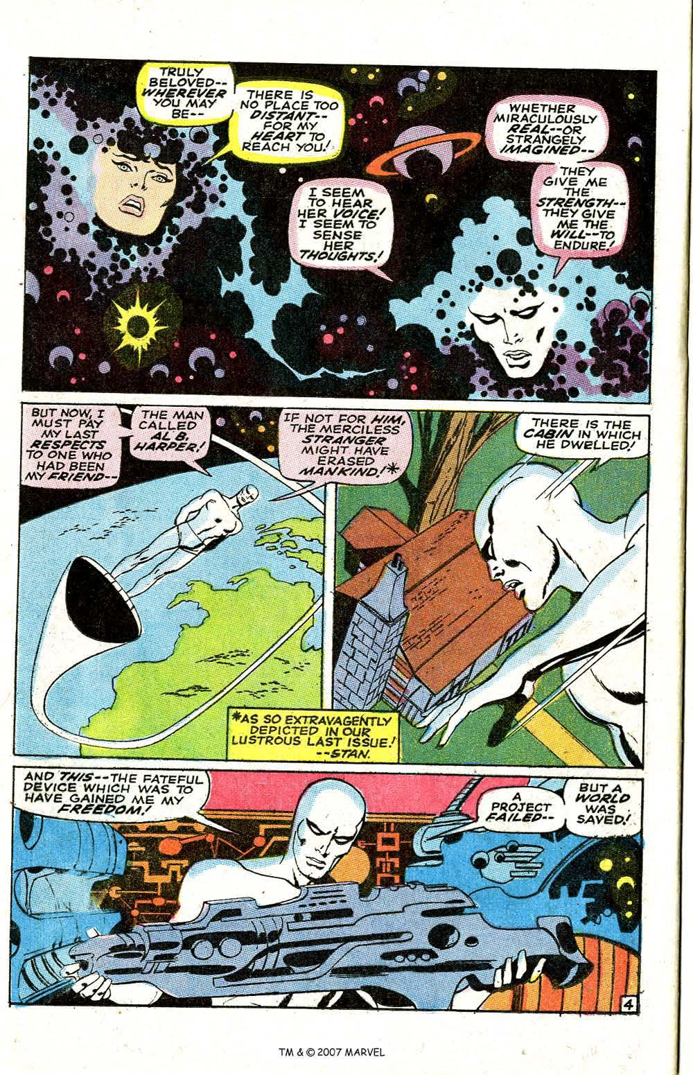 Read online Silver Surfer (1968) comic -  Issue #6 - 6