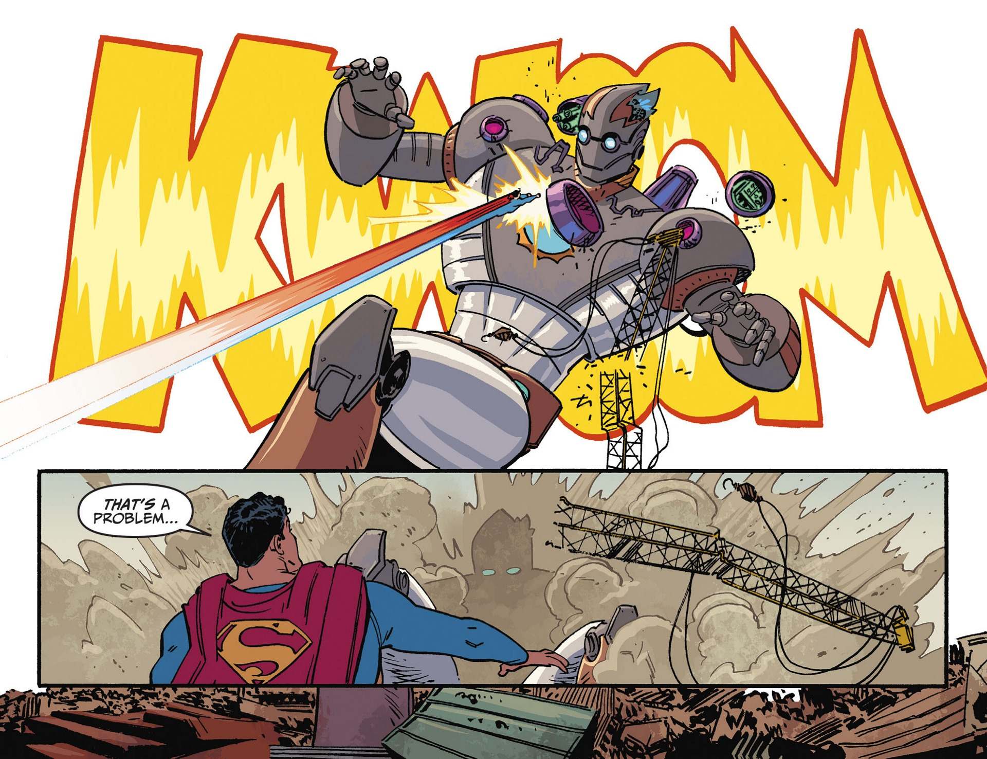 Read online Adventures of Superman [I] comic -  Issue #44 - 8