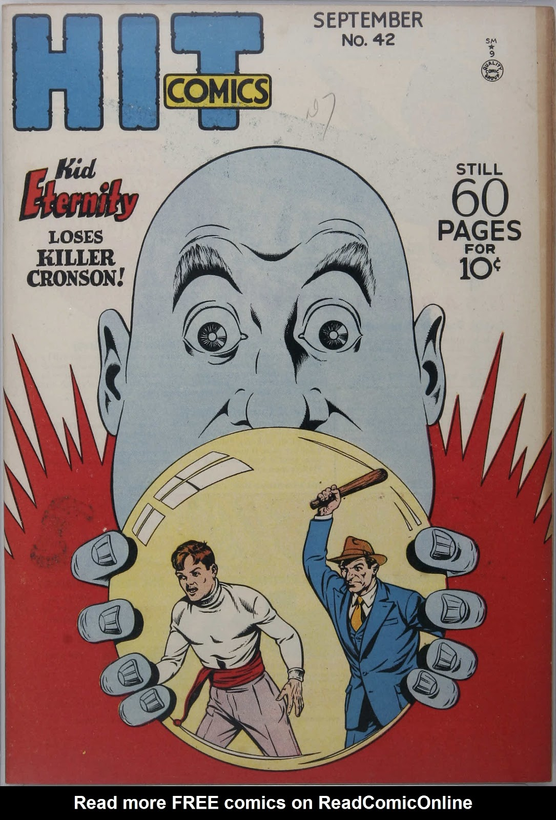 Hit Comics 42 Page 1