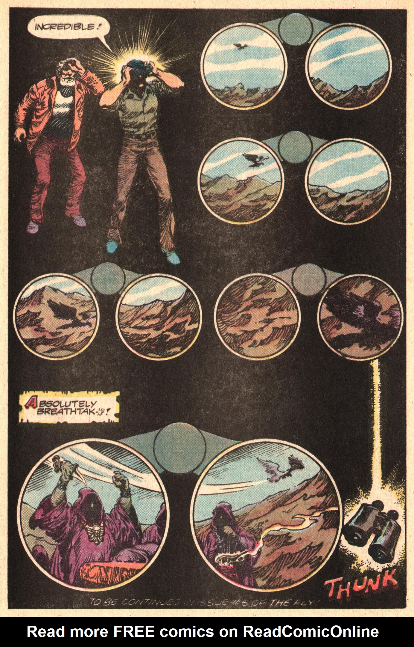 Read online The Fly (1983) comic -  Issue #5 - 33