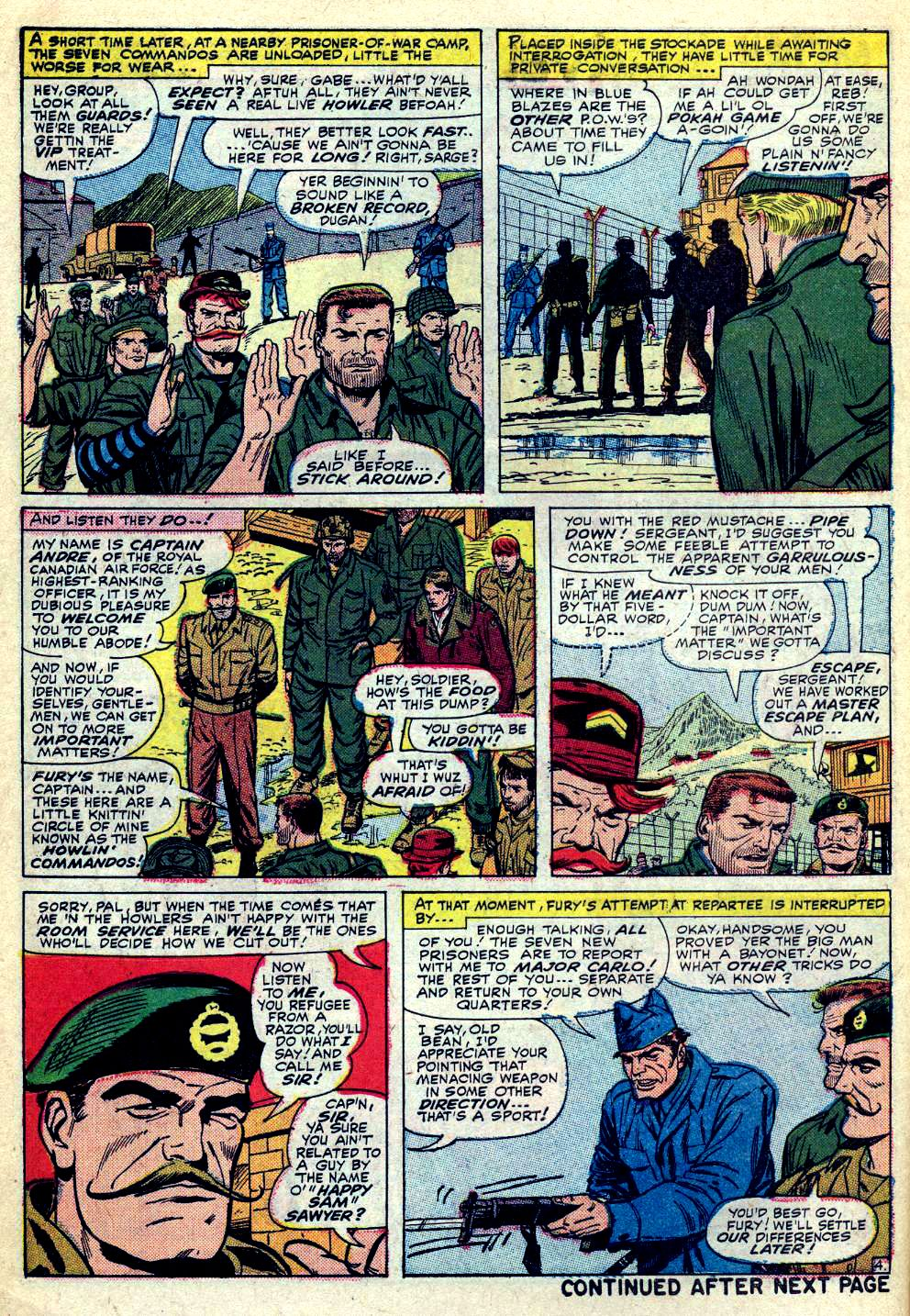 Read online Sgt. Fury comic -  Issue #30 - 6