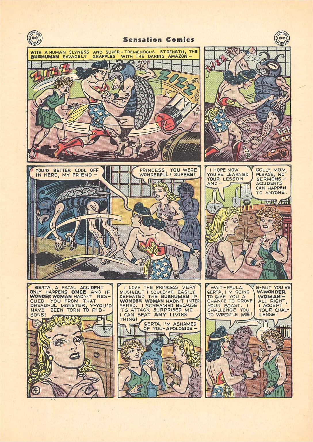 Read online Sensation (Mystery) Comics comic -  Issue #55 - 6