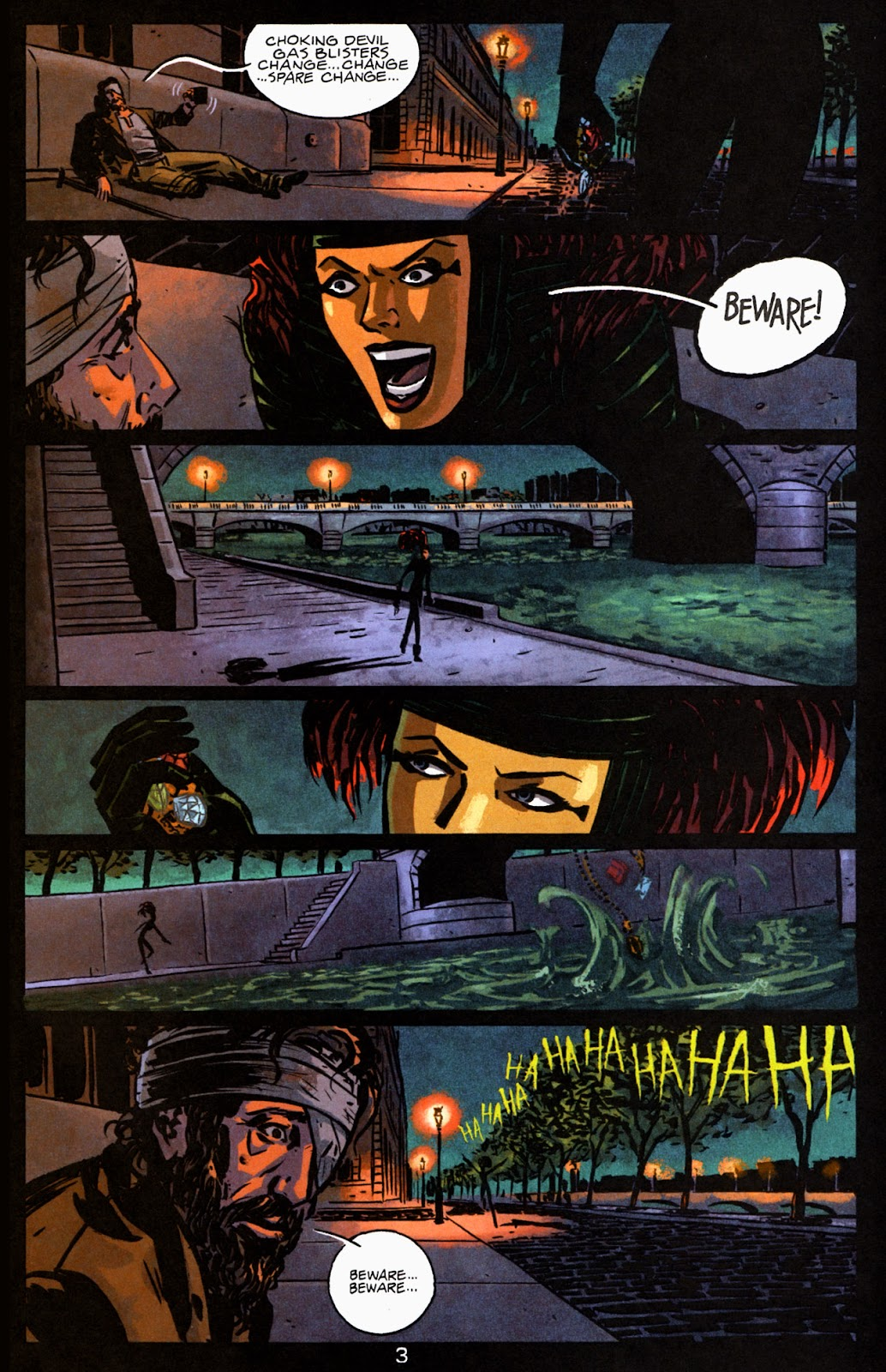 Read online Beware The Creeper (2003) comic -  Issue #2 - 4