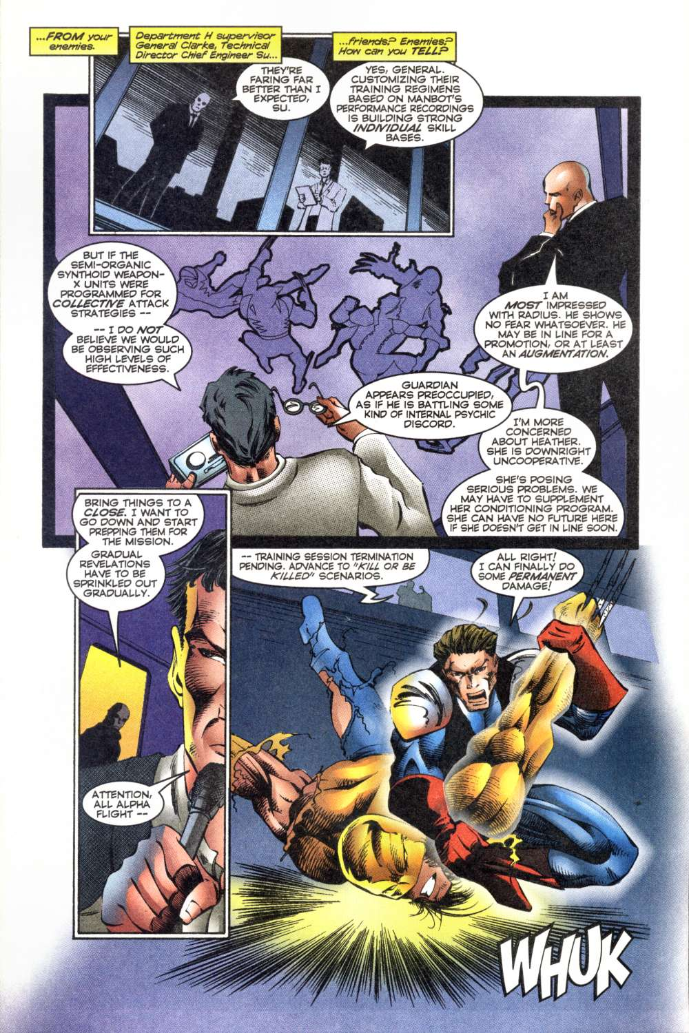 Read online Alpha Flight (1997) comic -  Issue #8 - 5