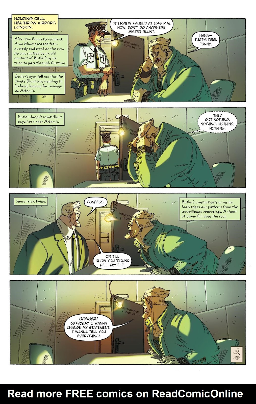 Artemis Fowl: The Eternity Code issue TPB - Page 105