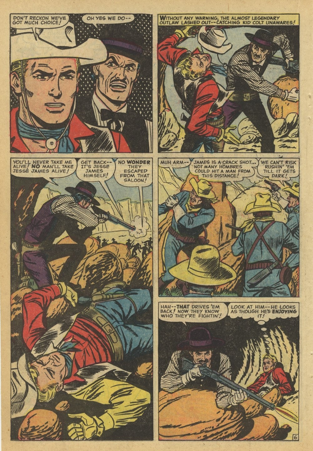 Kid Colt Outlaw issue 82 - Page 22