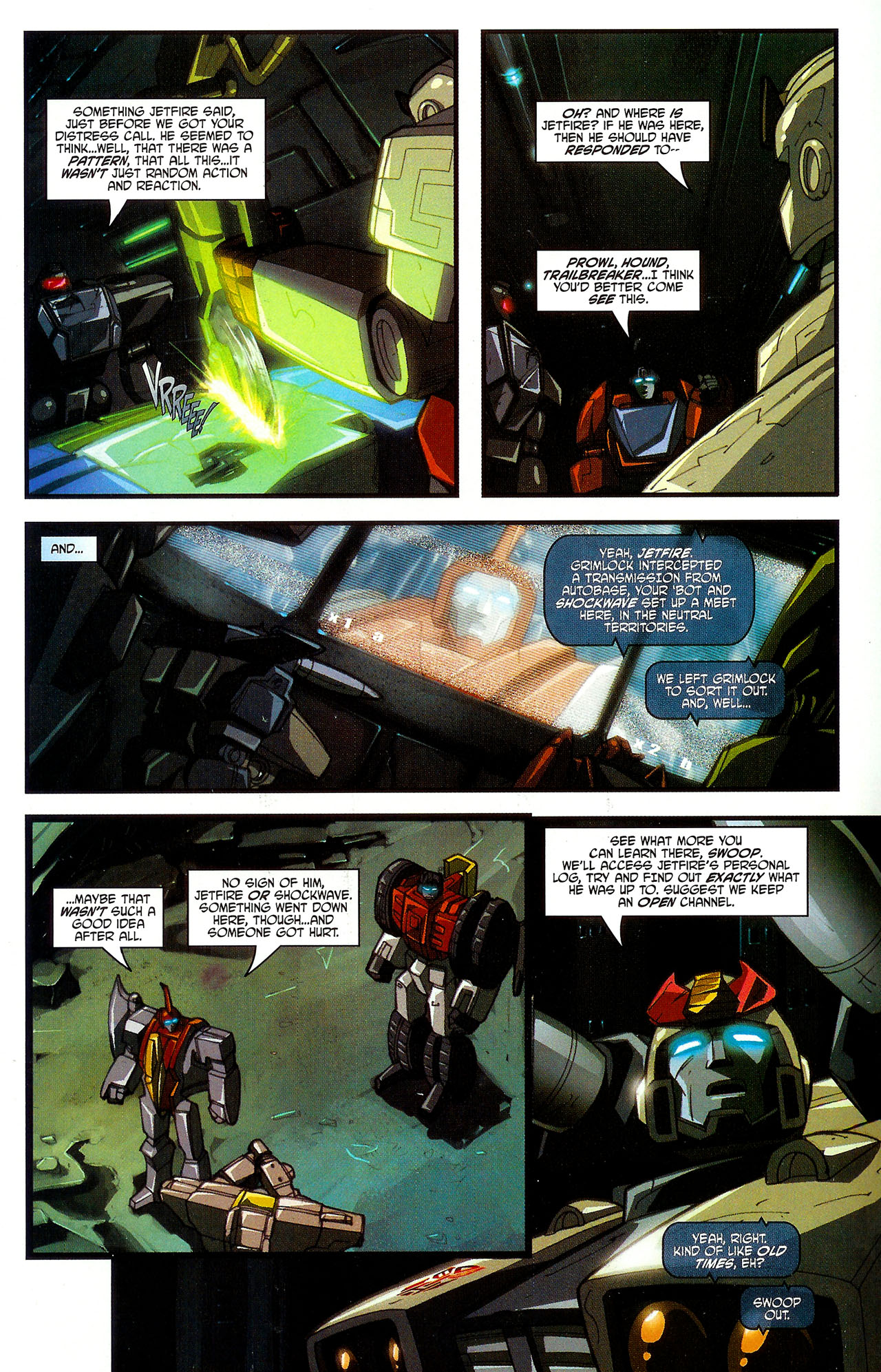"""Read online Transformers War Within: """"The Dark Ages"""" comic -  Issue #5 - 8"""