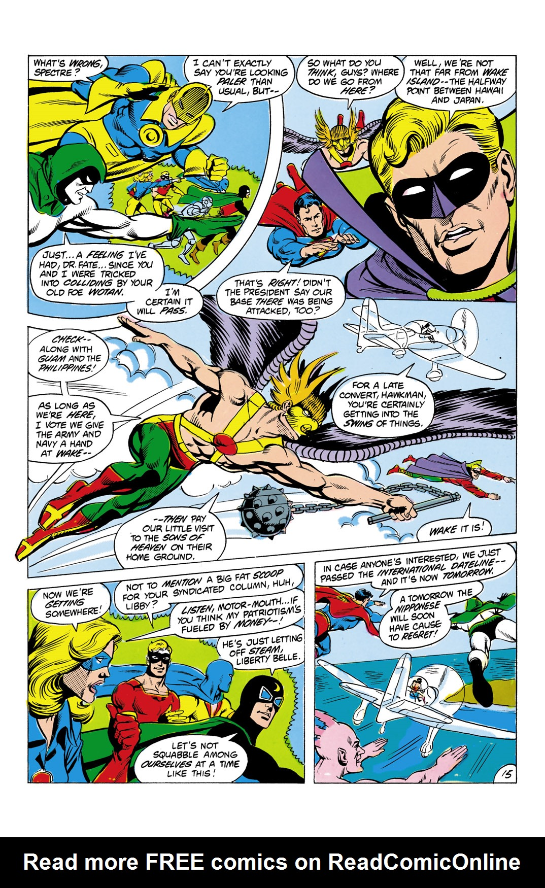 Read online All-Star Squadron comic -  Issue #4 - 16
