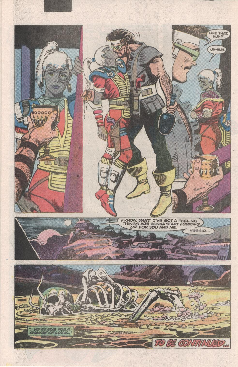 Read online Atari Force (1984) comic -  Issue #1 - 24