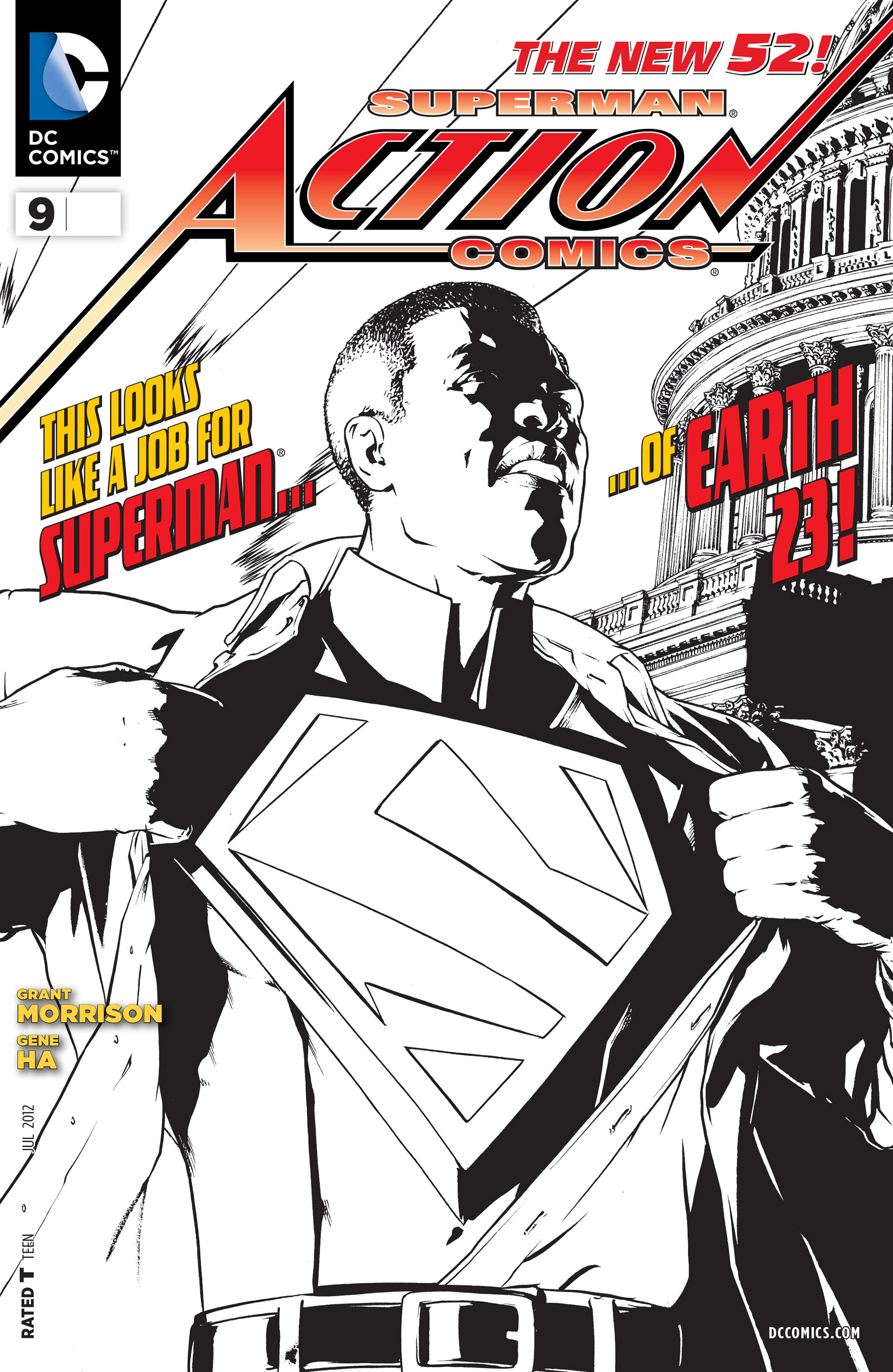 Read online Action Comics (2011) comic -  Issue #9 - 3