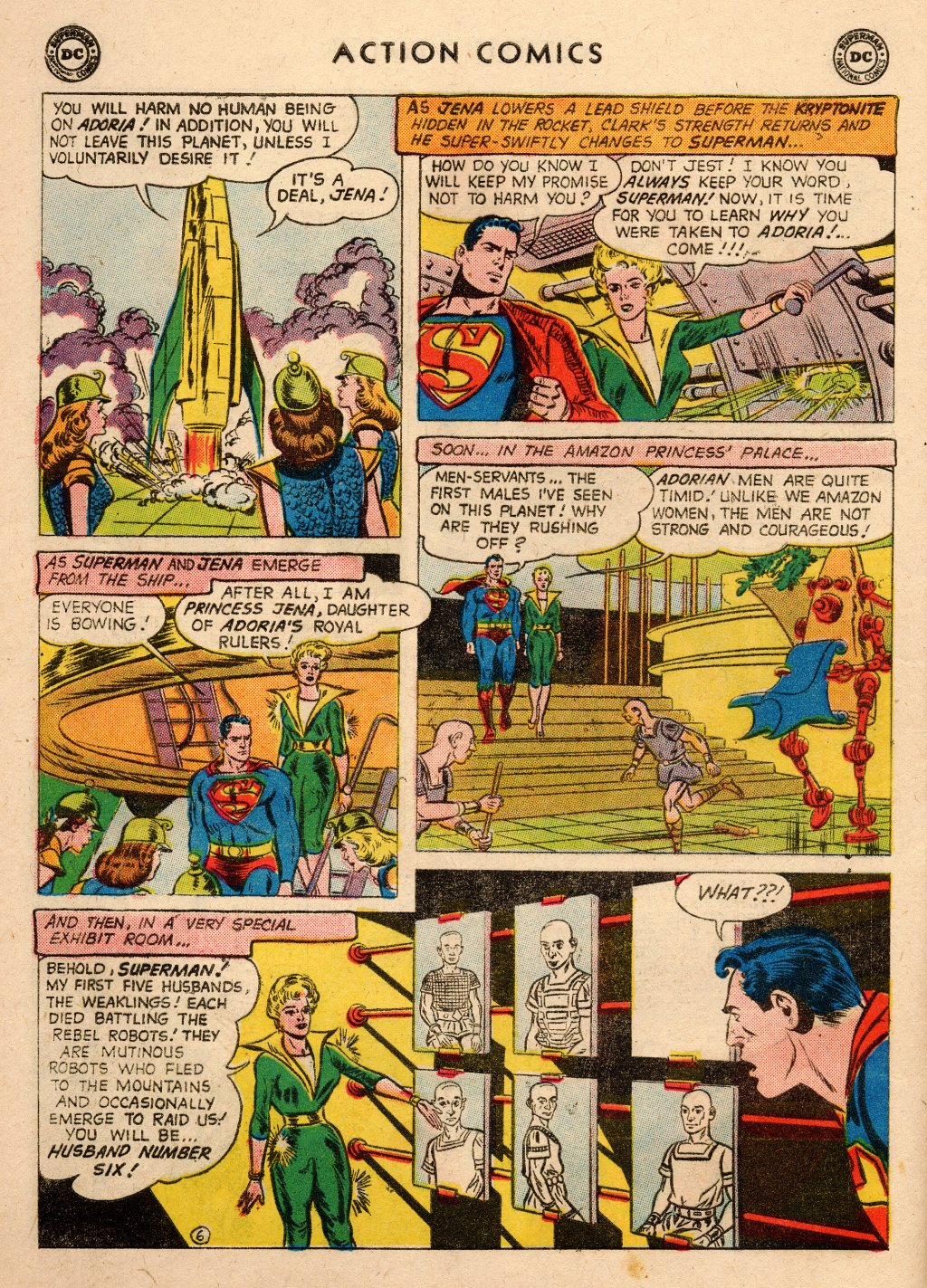 Read online Action Comics (1938) comic -  Issue #266 - 8