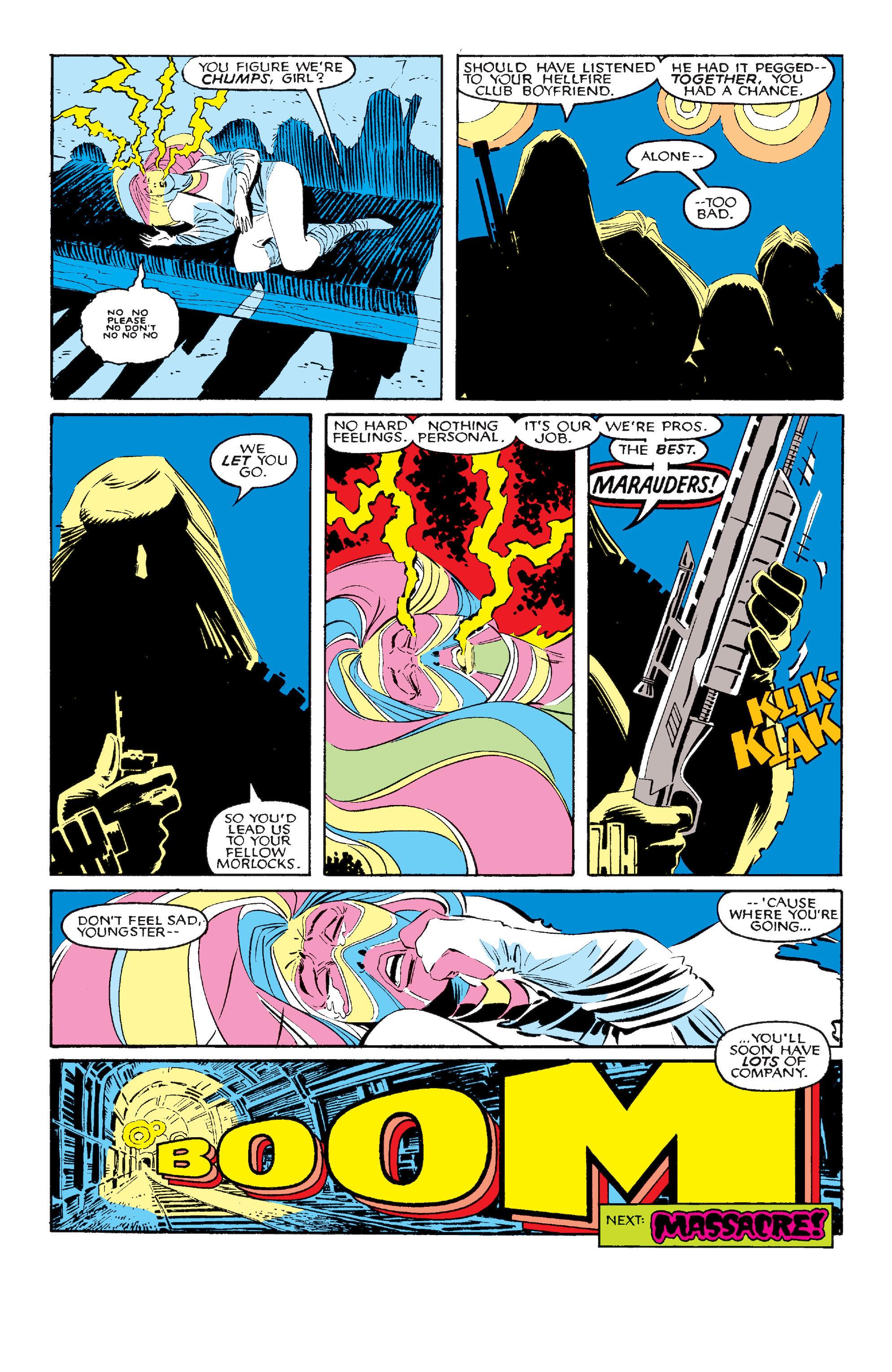 Read online Uncanny X-Men (1963) comic -  Issue #210 - 24