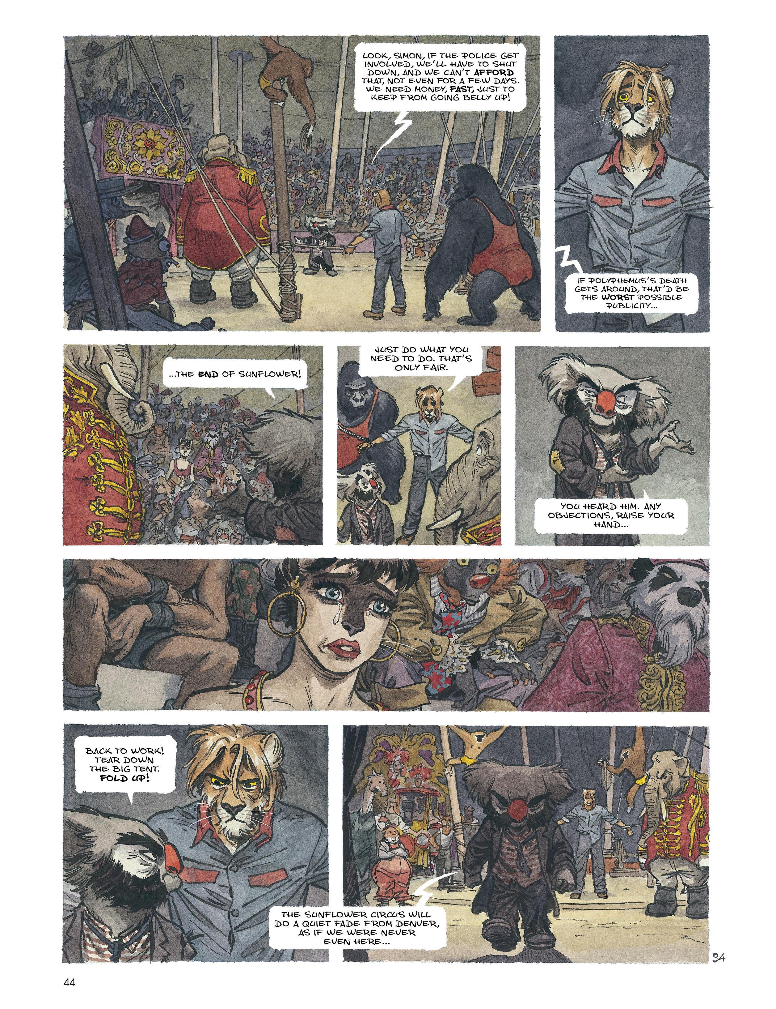 Read online Blacksad: Amarillo comic -  Issue # Full - 43