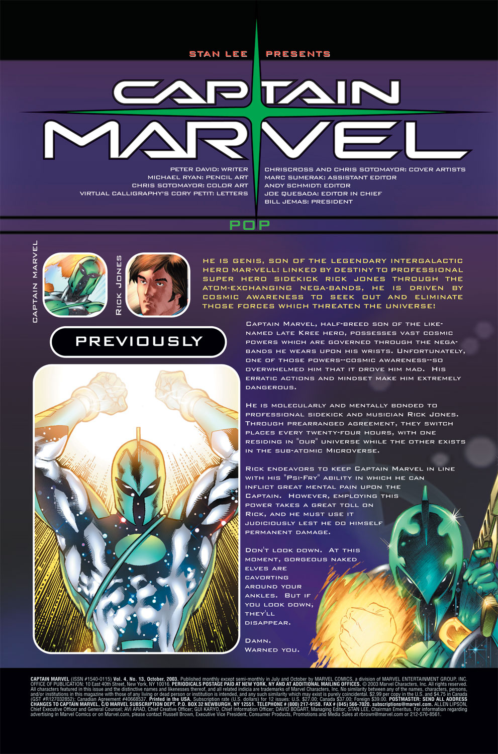 Captain Marvel (2002) Issue #13 #13 - English 2