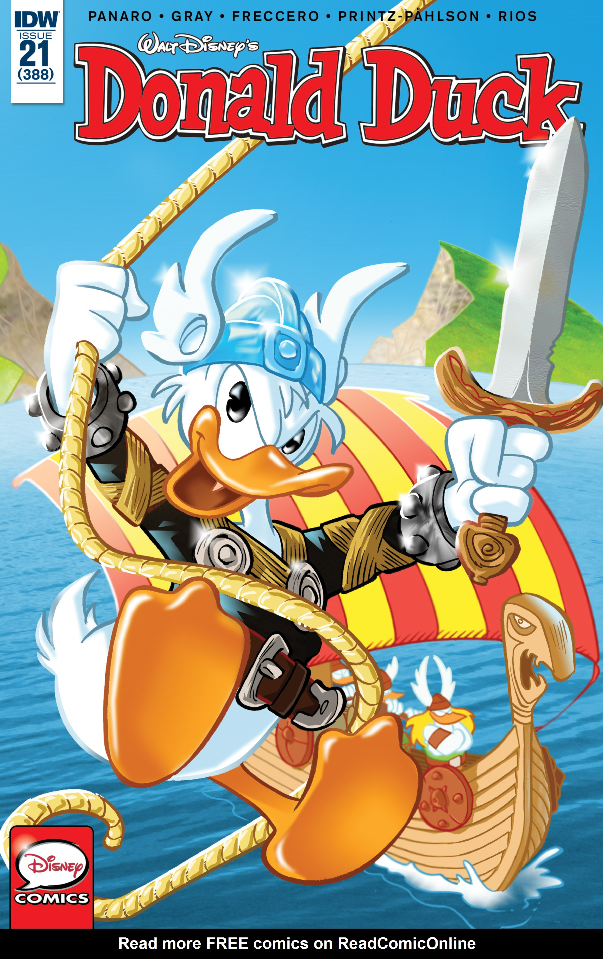 Read online Donald Duck (2015) comic -  Issue #21 - 1