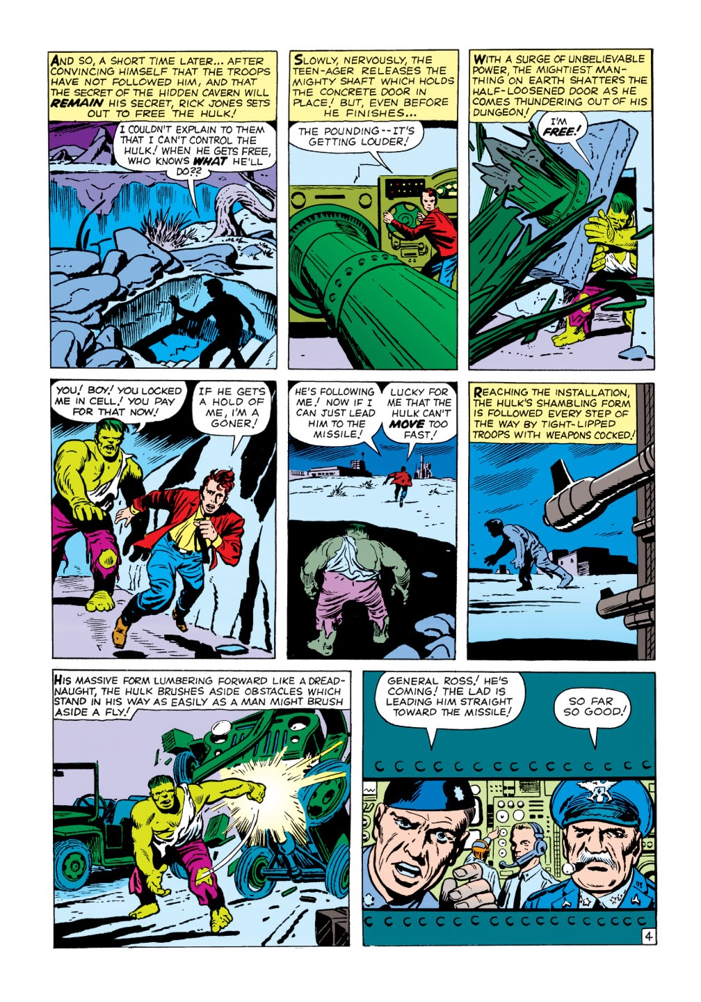 Read online Marvel Masterworks: The Incredible Hulk comic -  Issue # TPB 1 (Part 1) - 57