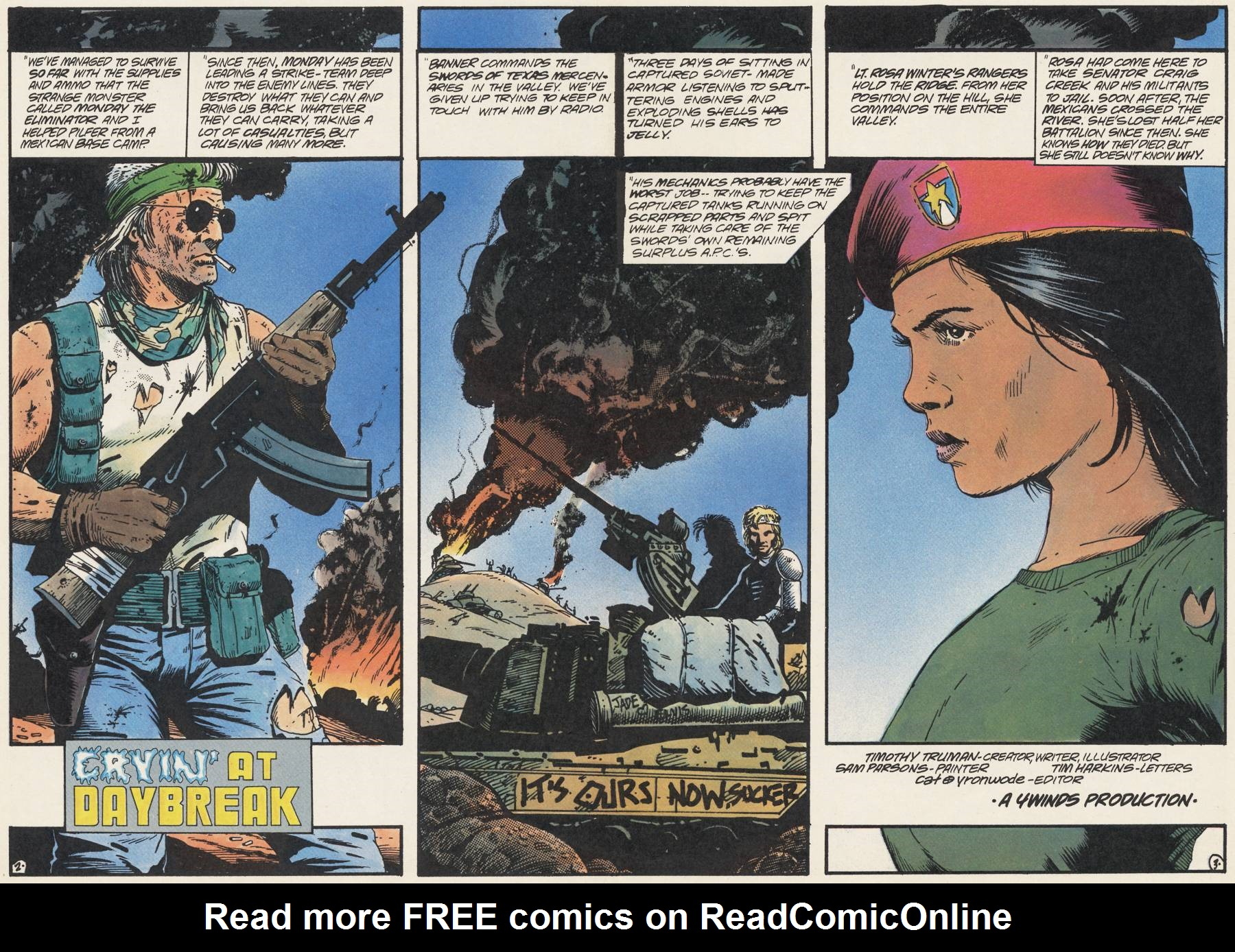 Read online Scout comic -  Issue #23 - 4
