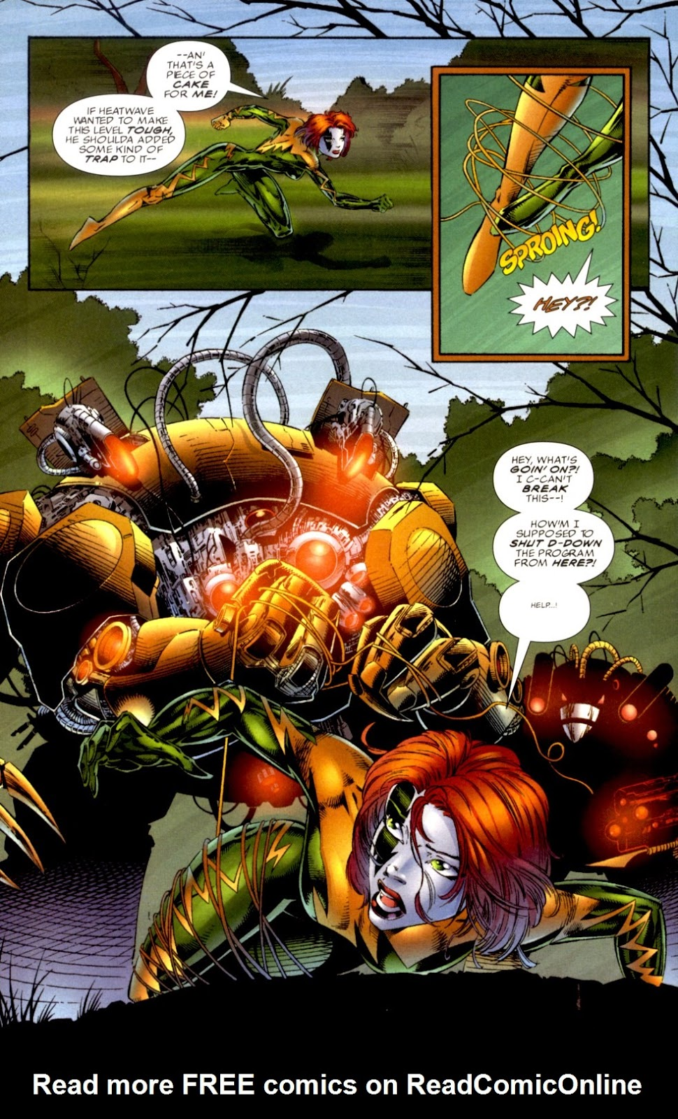 Read online Cyberforce (1993) comic -  Issue # Annual 1 - 5
