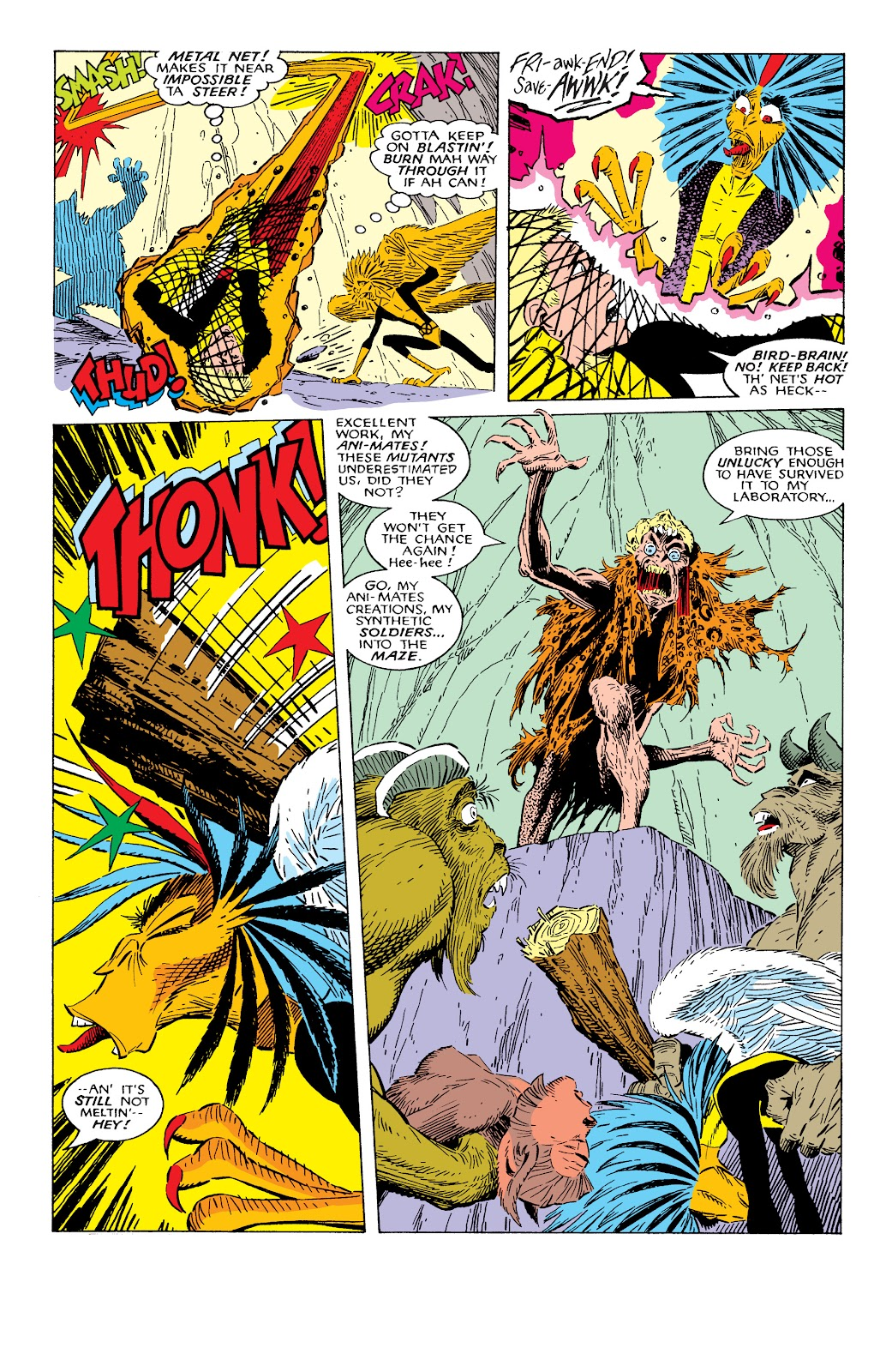 Read online X-Men Milestones: Fall of the Mutants comic -  Issue # TPB (Part 2) - 10