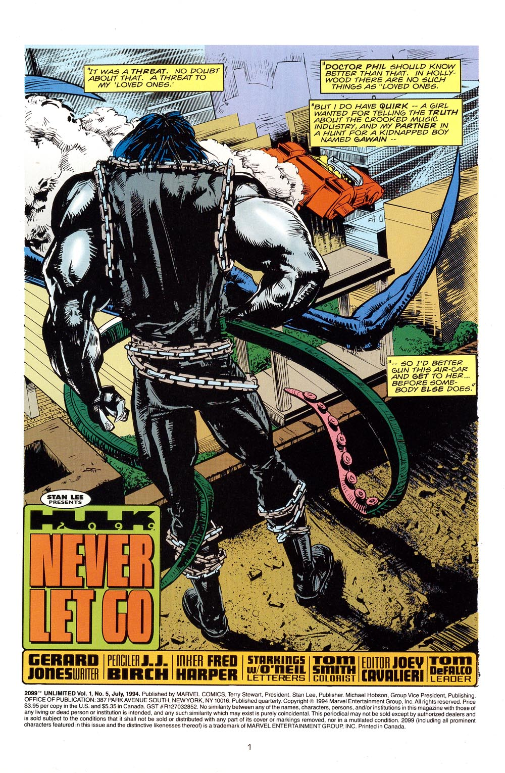 Read online 2099 Unlimited comic -  Issue #5 - 2