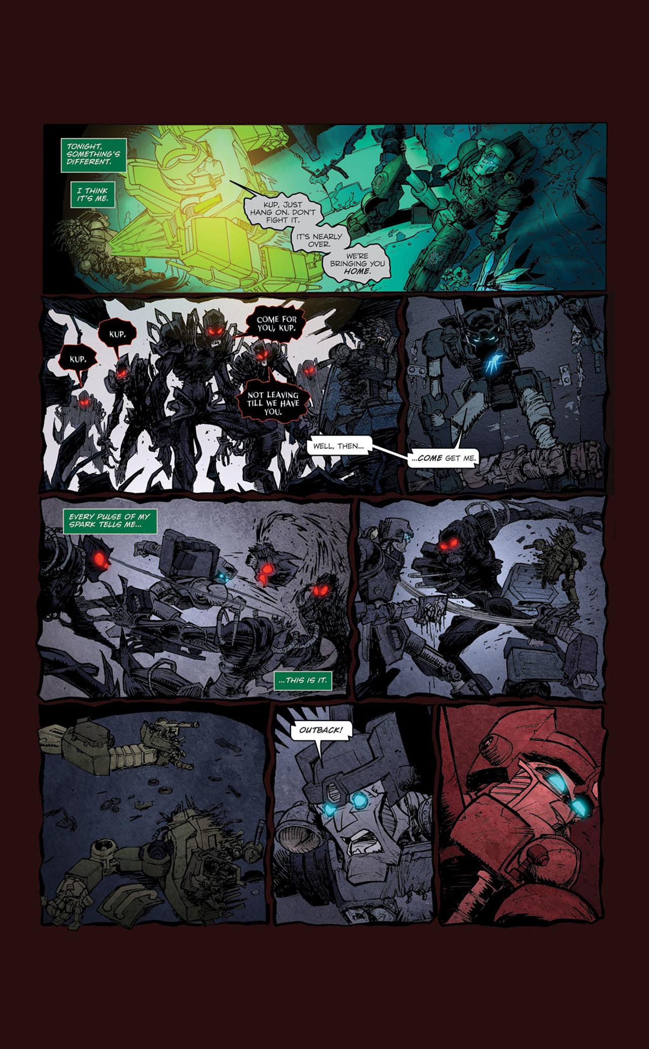 Read online Transformers Spotlight: Kup comic -  Issue # Full - 23