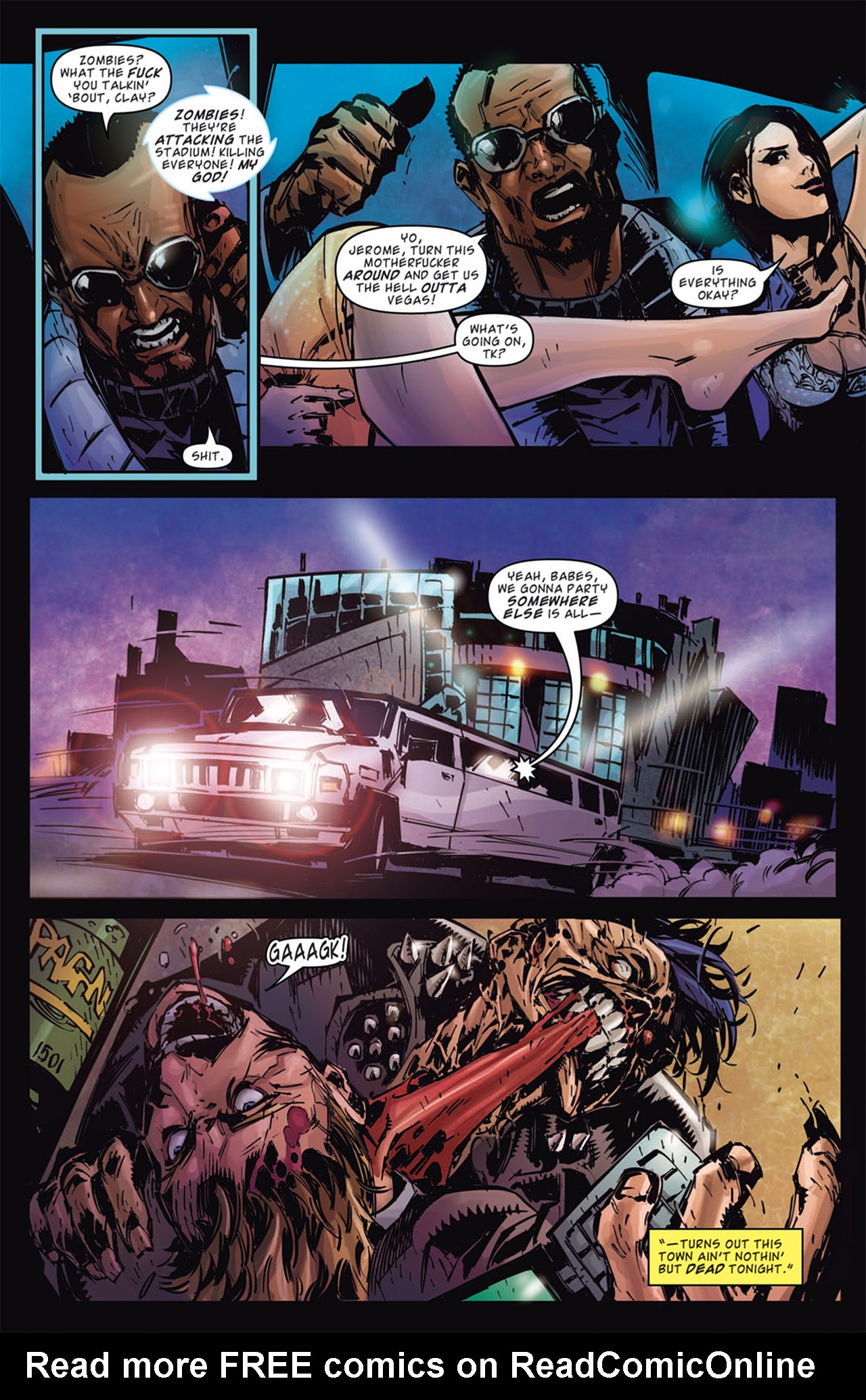 Read online Dead Rising: Road to Fortune comic -  Issue # TPB - 64