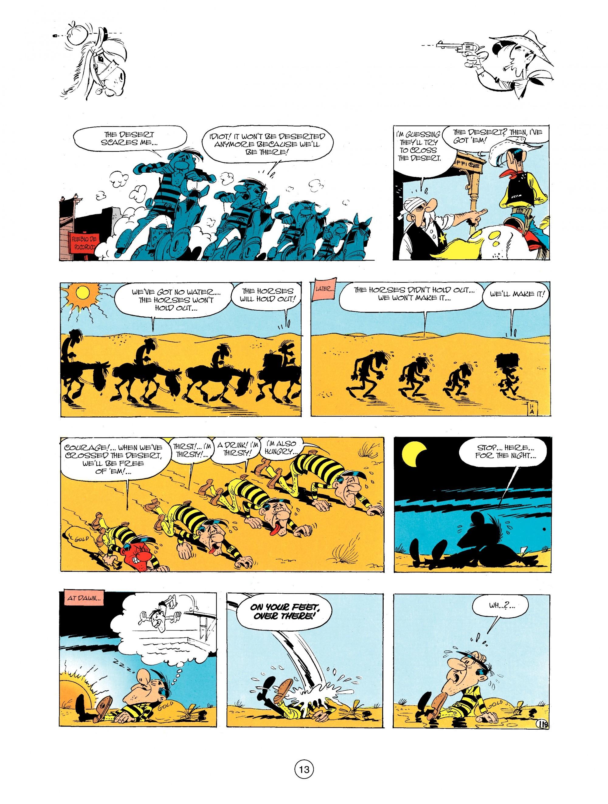 Read online A Lucky Luke Adventure comic -  Issue #34 - 13