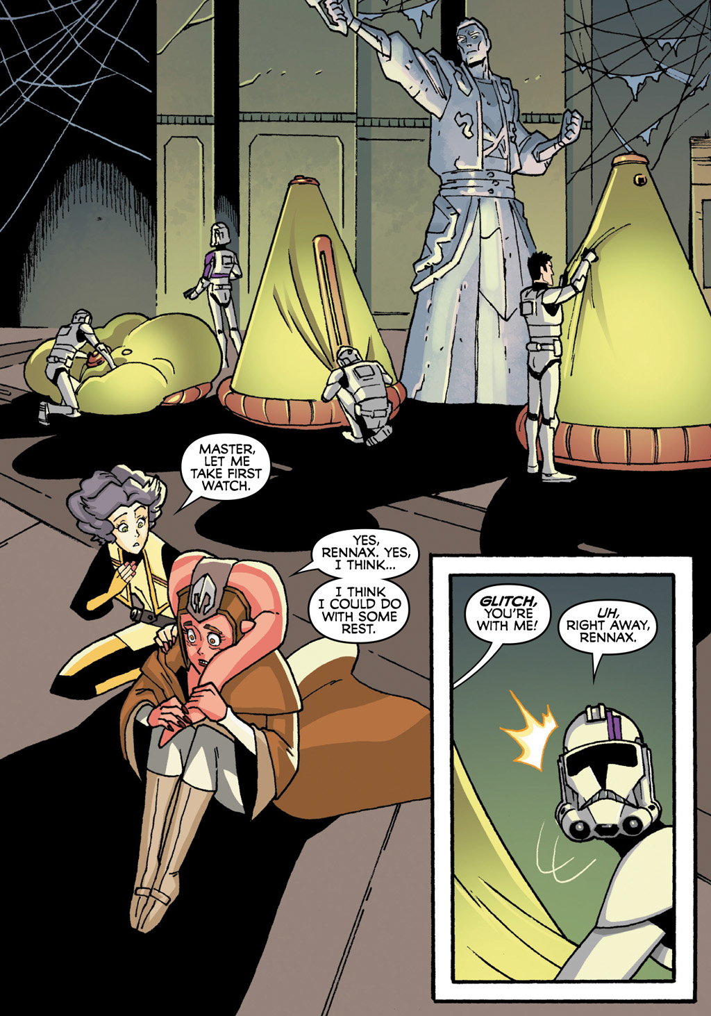 Read online Star Wars: The Clone Wars - Defenders of the Lost Temple comic -  Issue # Full - 41