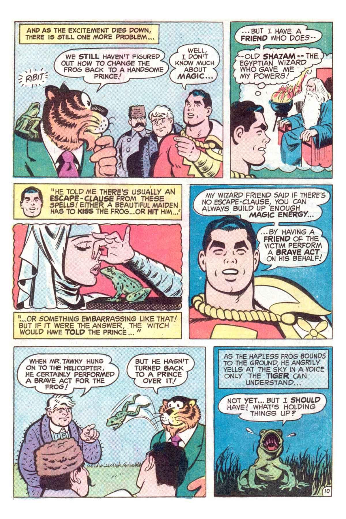 Read online Shazam! (1973) comic -  Issue #18 - 11