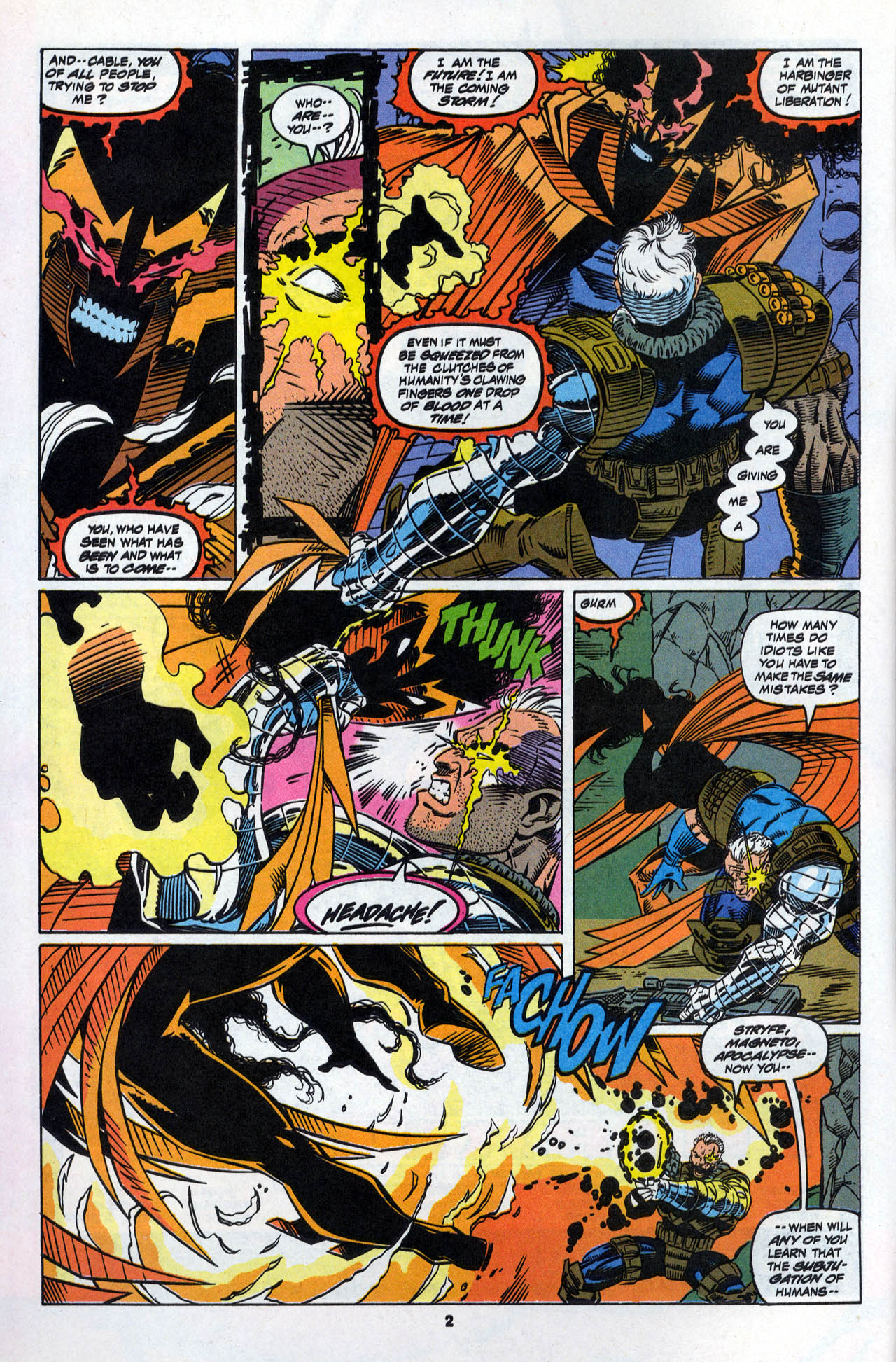 Read online X-Force (1991) comic -  Issue #28 - 4