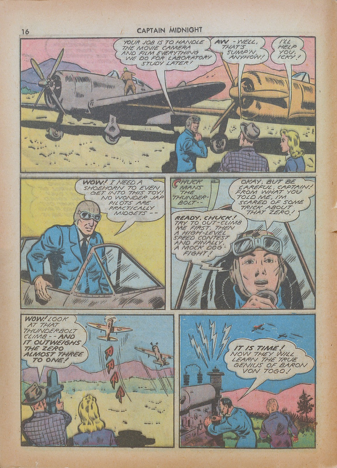Captain Midnight (1942) issue 7 - Page 16