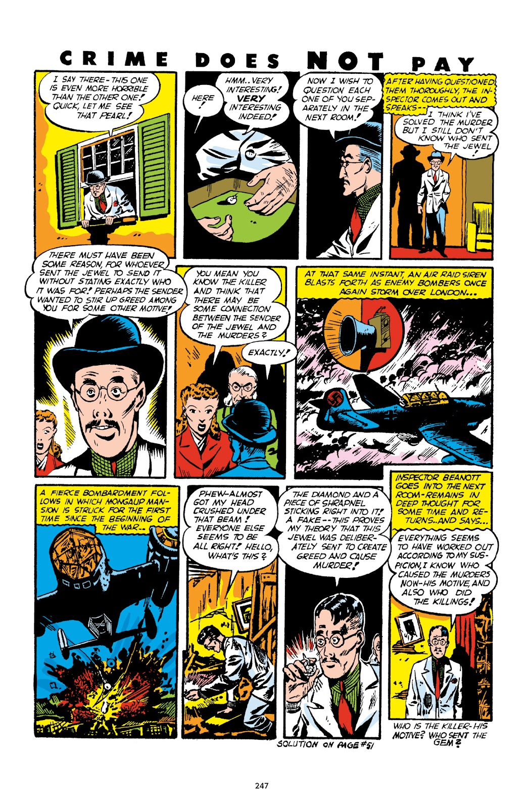 Read online Crime Does Not Pay Archives comic -  Issue # TPB 1 (Part 3) - 50