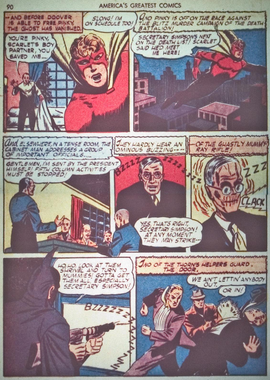 Read online America's Greatest Comics comic -  Issue #1 - 93