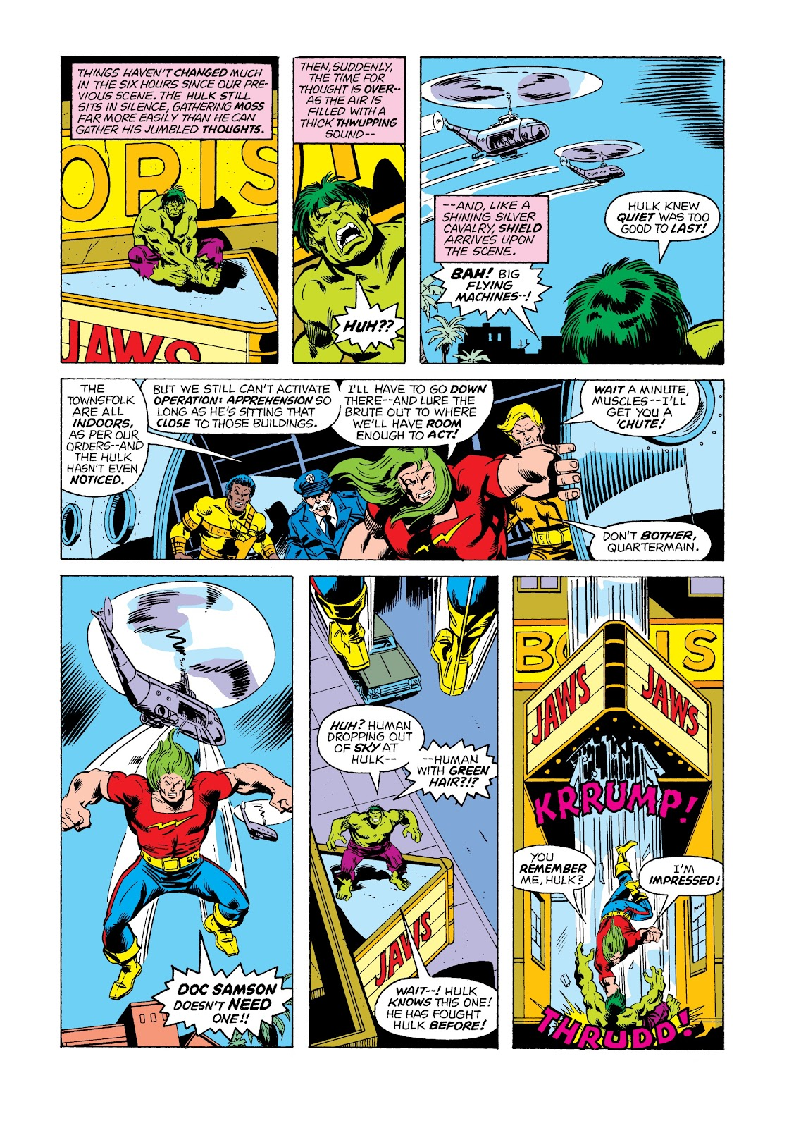 Read online Marvel Masterworks: The Incredible Hulk comic -  Issue # TPB 12 (Part 1) - 87