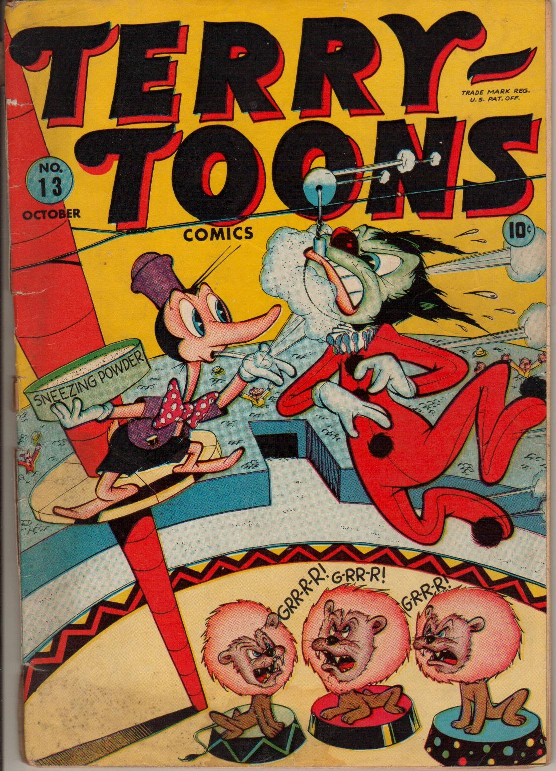 Terry-Toons Comics issue 13 - Page 1
